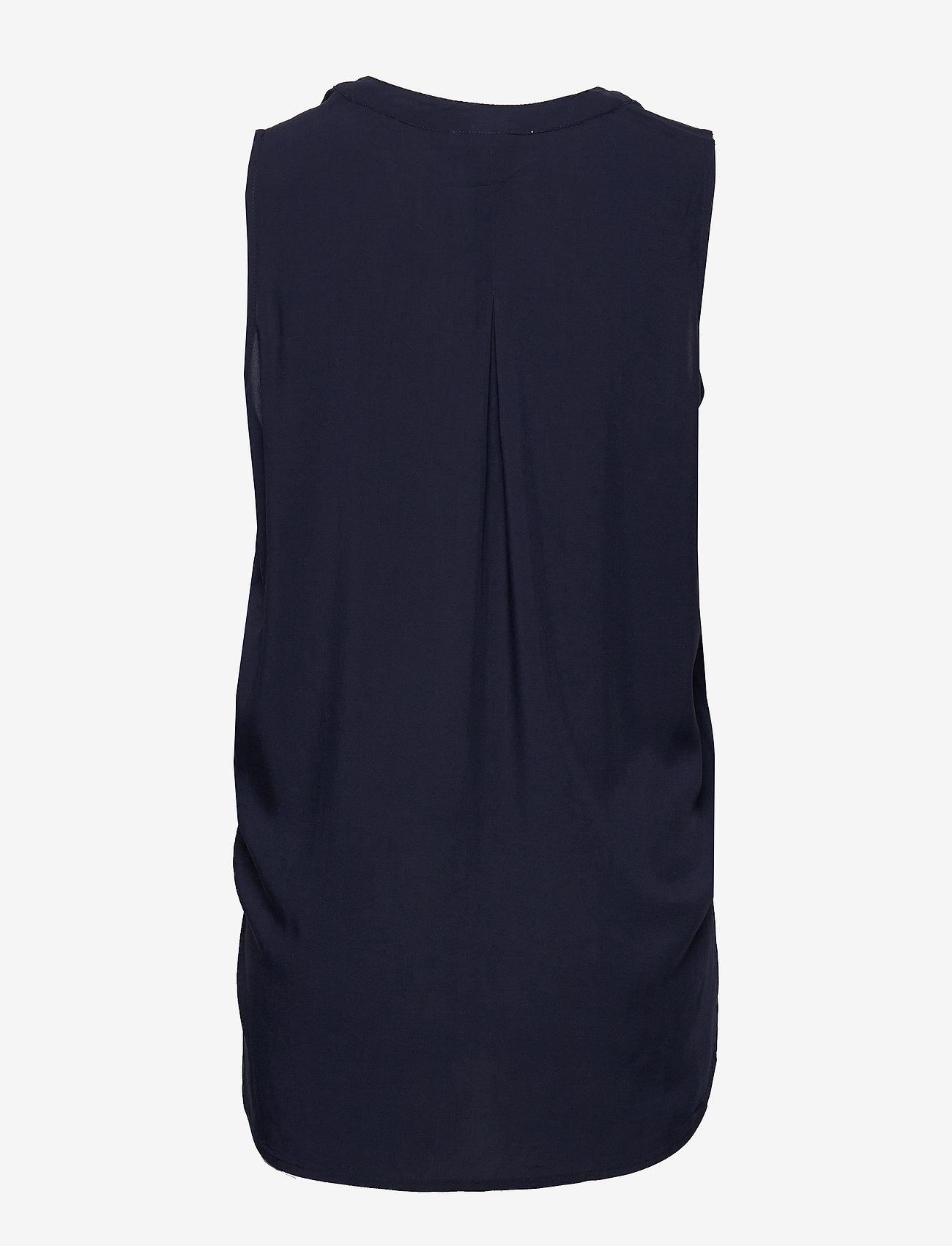 Esprit Casual - Blouses woven - Ærmeløse bluser - navy - 1