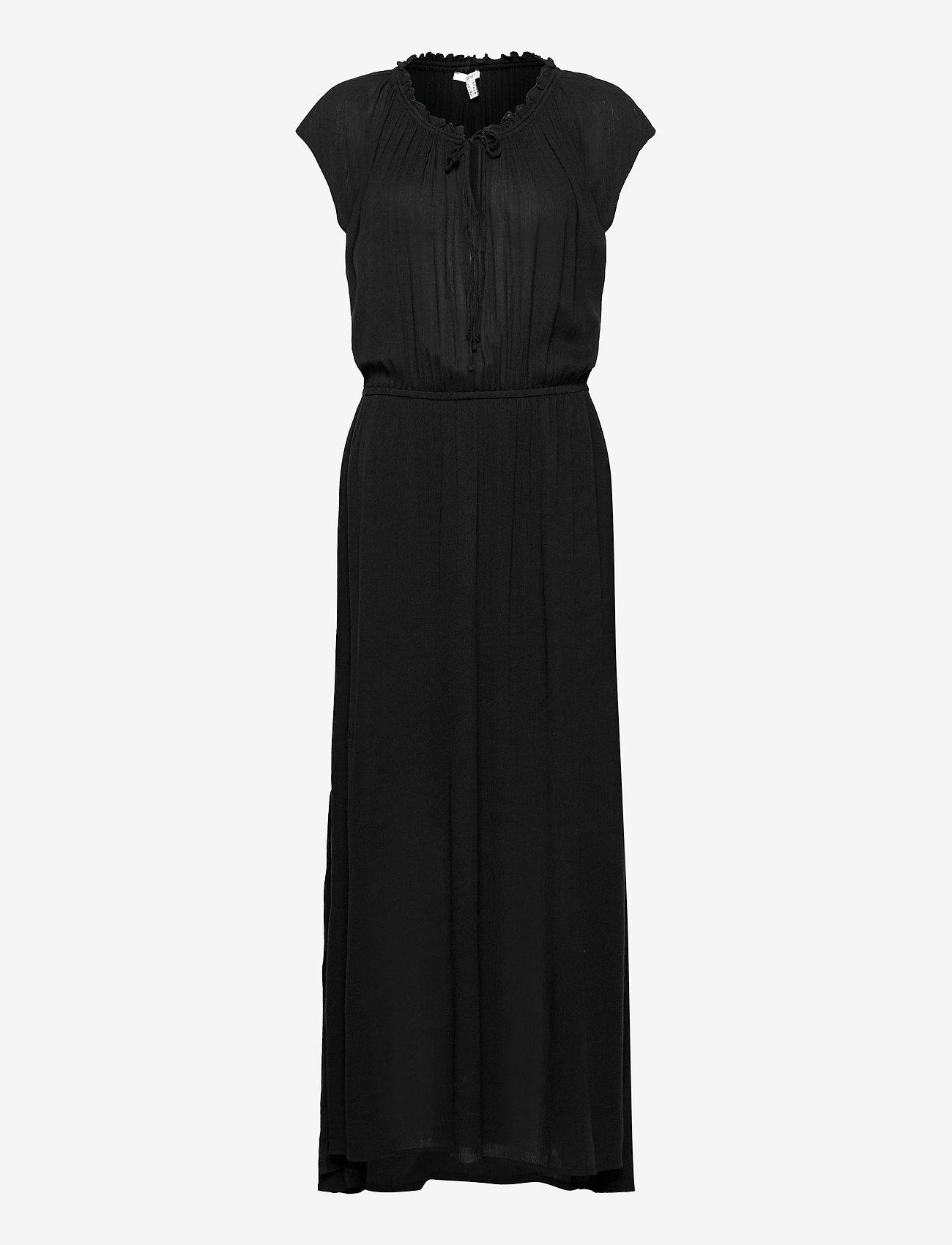 Esprit Casual - Dresses light woven - kveldskjoler - black - 0