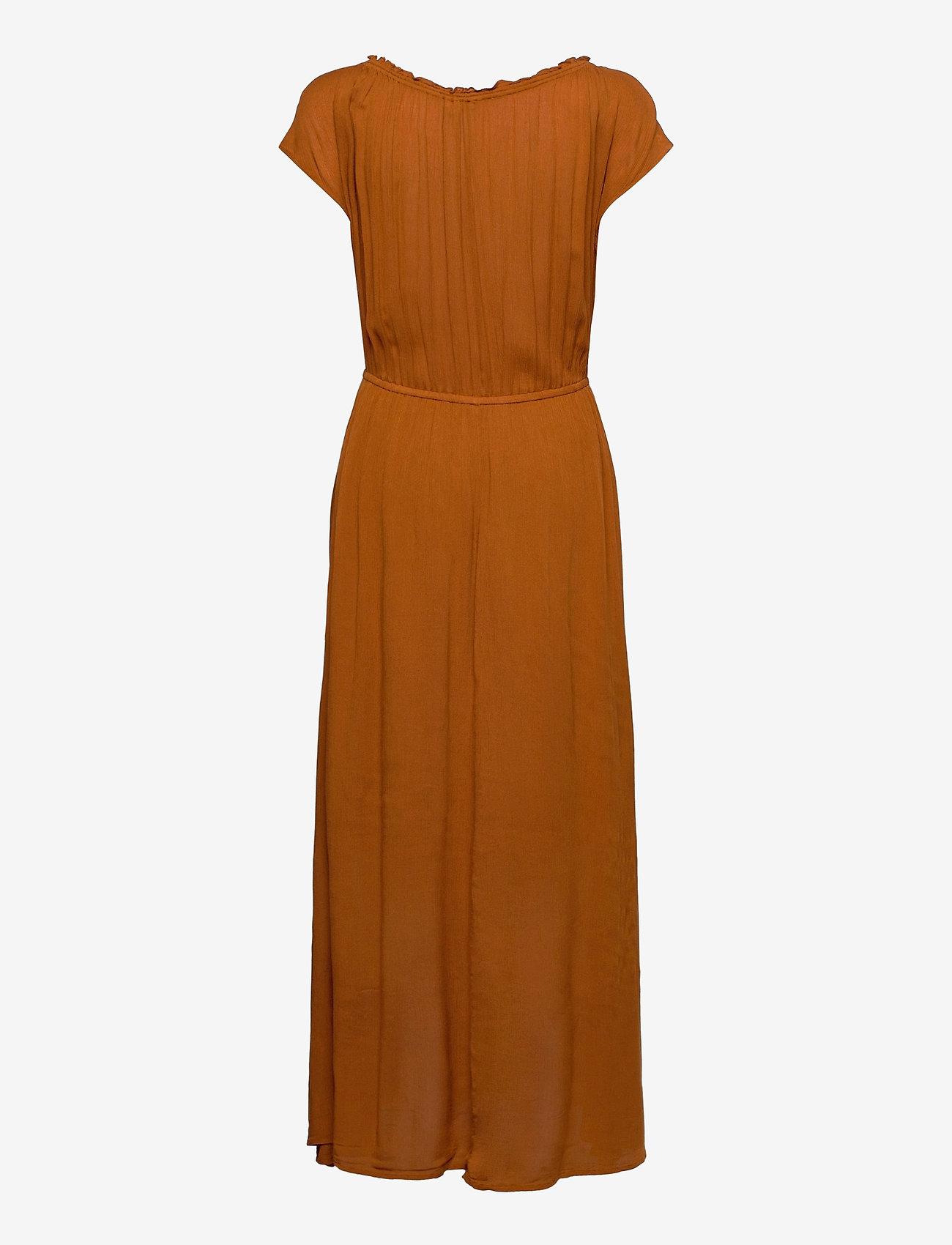 Esprit Casual - Dresses light woven - kveldskjoler - caramel - 1