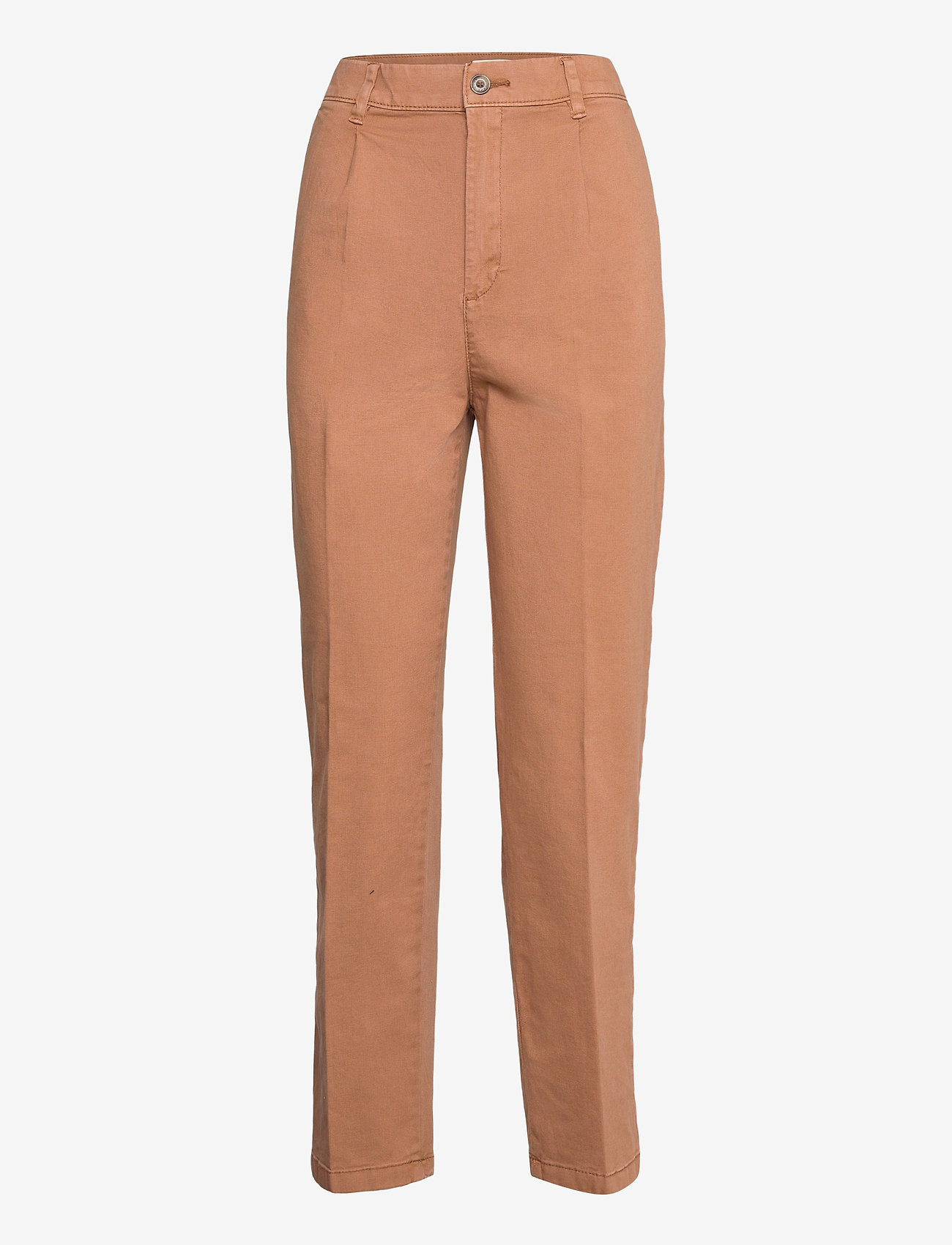 Esprit Casual - Pants woven - chinos - rust brown - 0