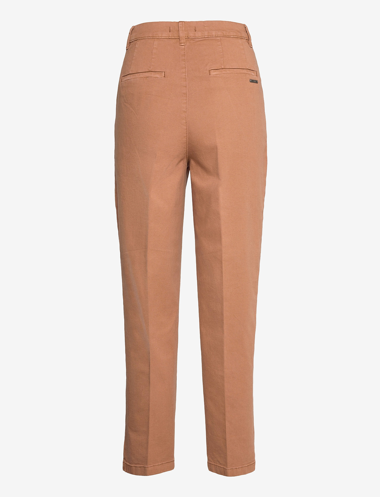 Esprit Casual - Pants woven - chinos - rust brown - 1