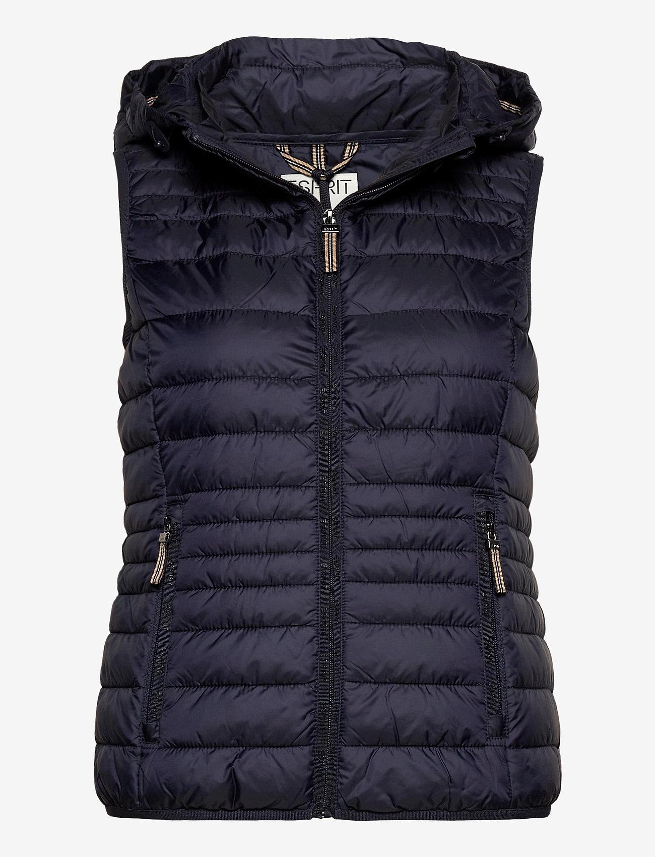 Esprit Casual - Vests outdoor woven - vester - navy - 0