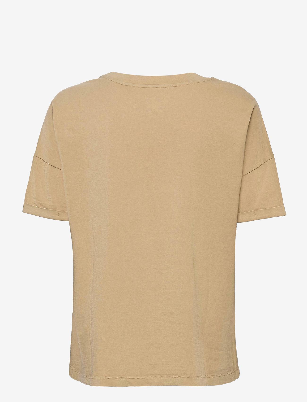 Esprit Casual - T-Shirts - t-shirts - beige - 1