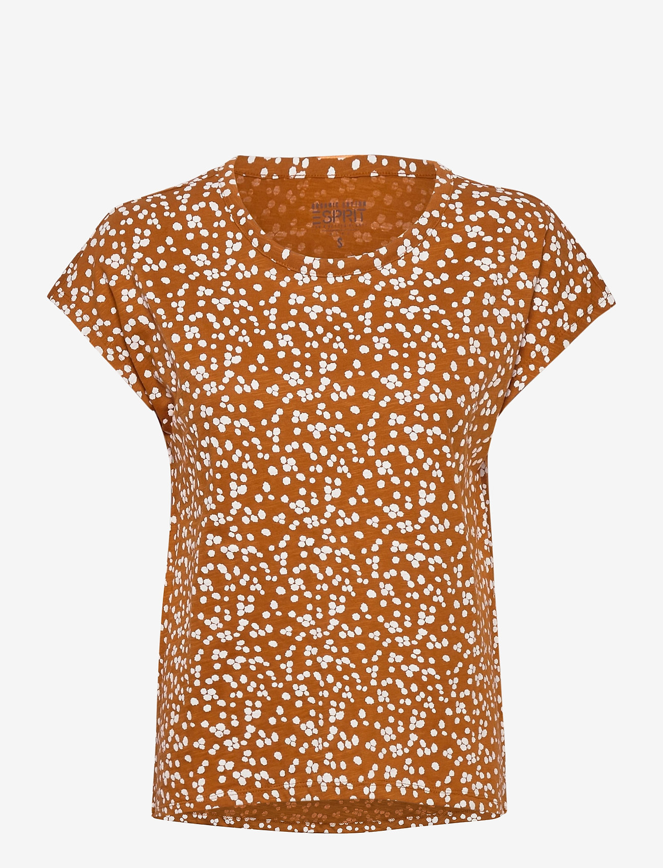 Esprit Casual - T-Shirts - t-shirts - rust brown - 0