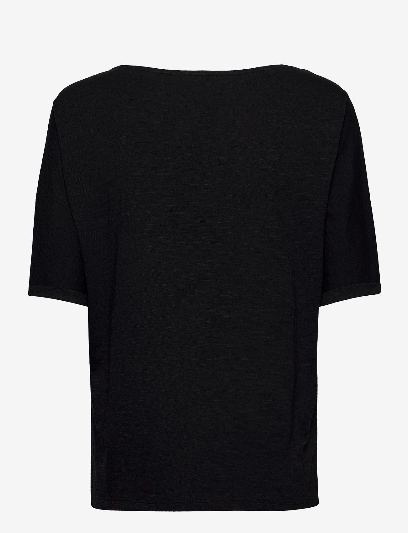 Esprit Casual - T-Shirts - t-shirts - black - 1