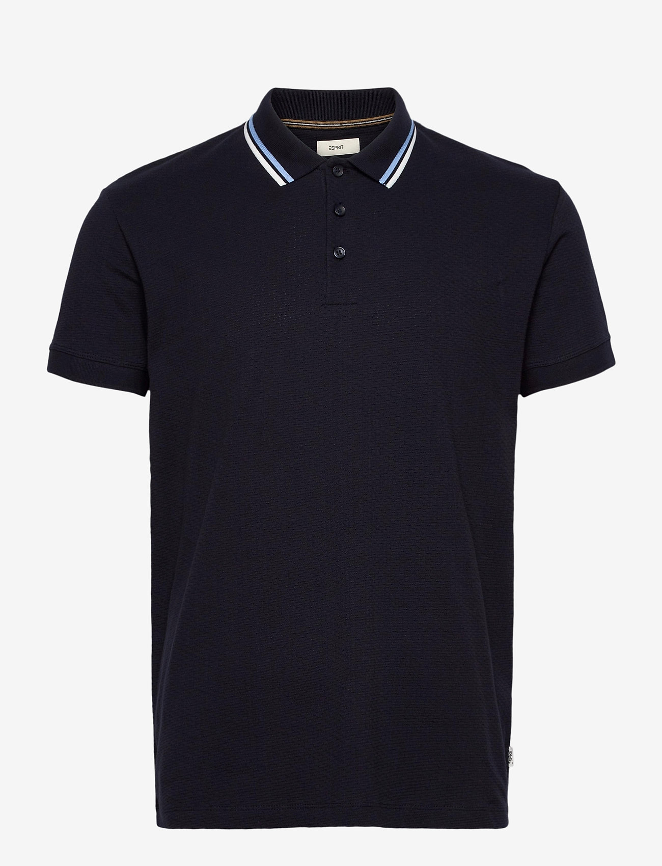 Esprit Casual - Polo shirts - basic t-shirts - navy - 0