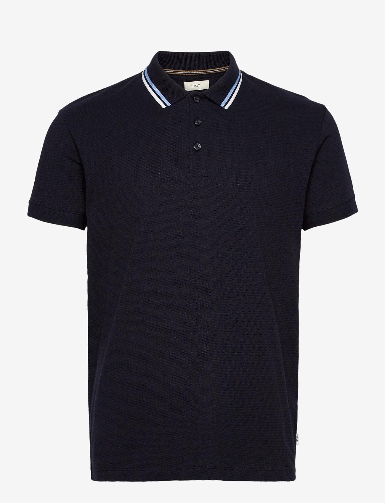 Esprit Casual - Polo shirts - t-shirts basiques - navy - 0
