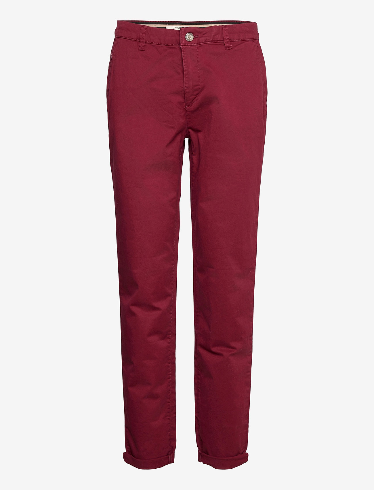 Esprit Casual - Pants woven - chinos - bordeaux red - 0