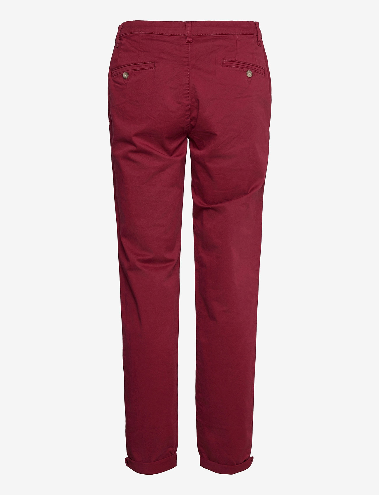 Esprit Casual - Pants woven - chinos - bordeaux red - 1