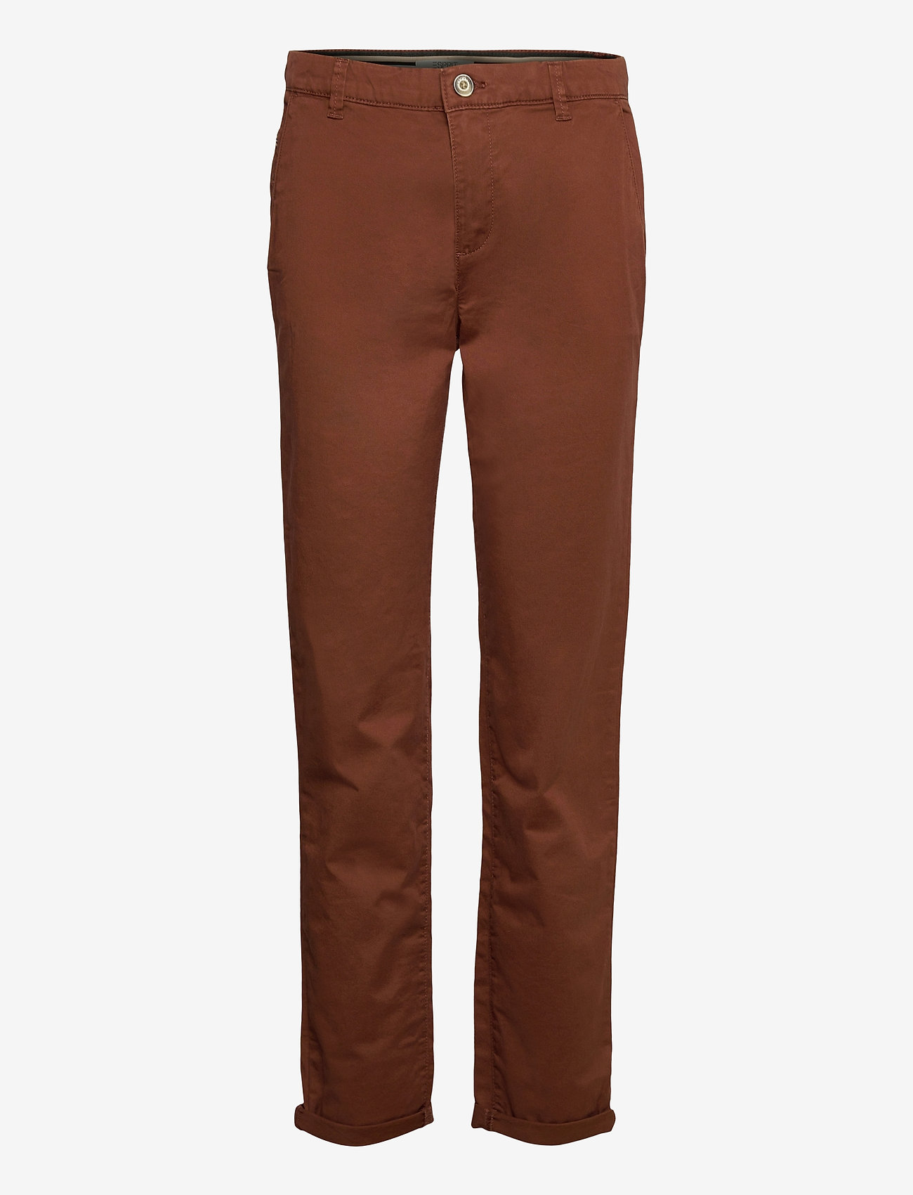 Esprit Casual - Pants woven - chinos - brown - 0