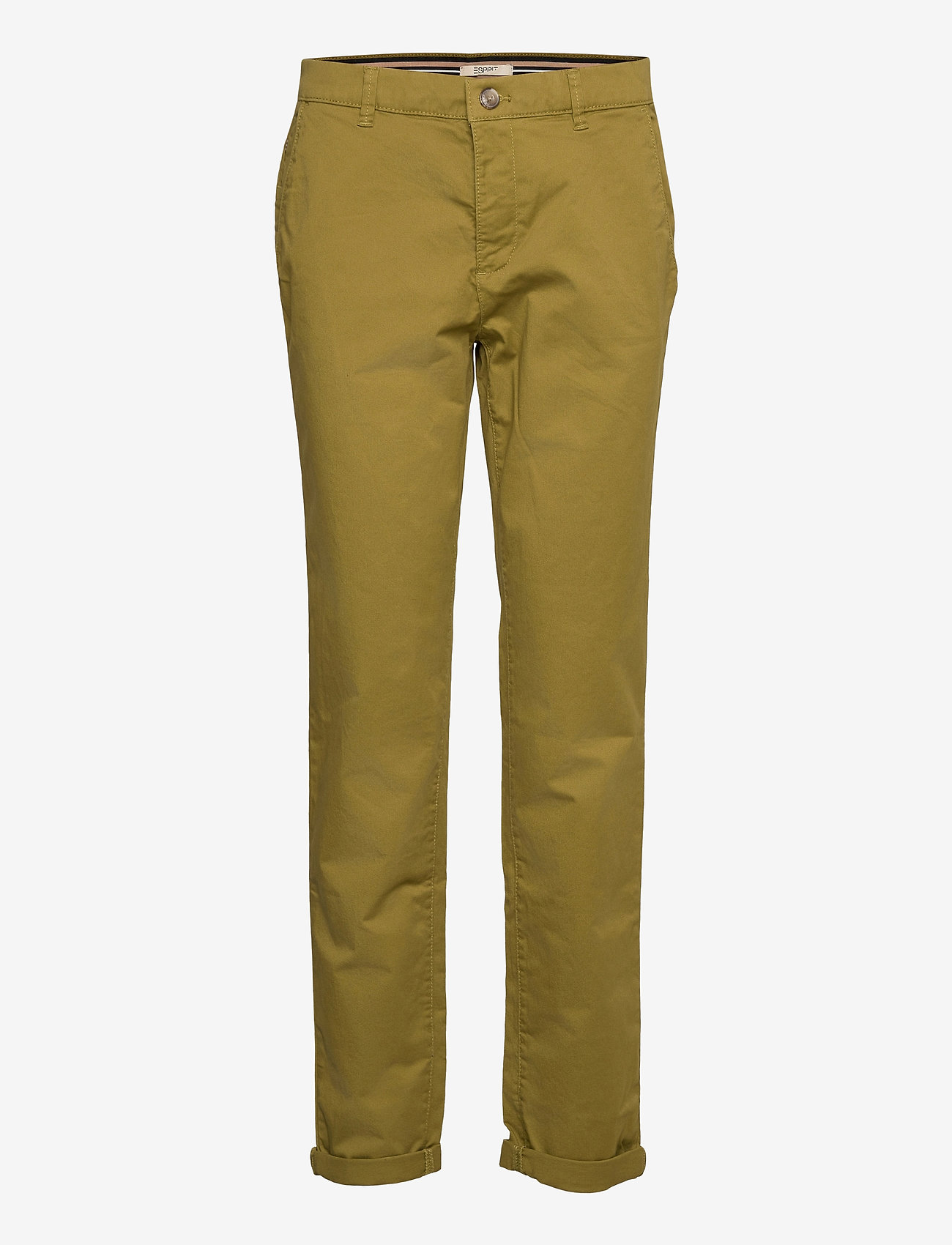 Esprit Casual - Pants woven - chinos - olive - 0