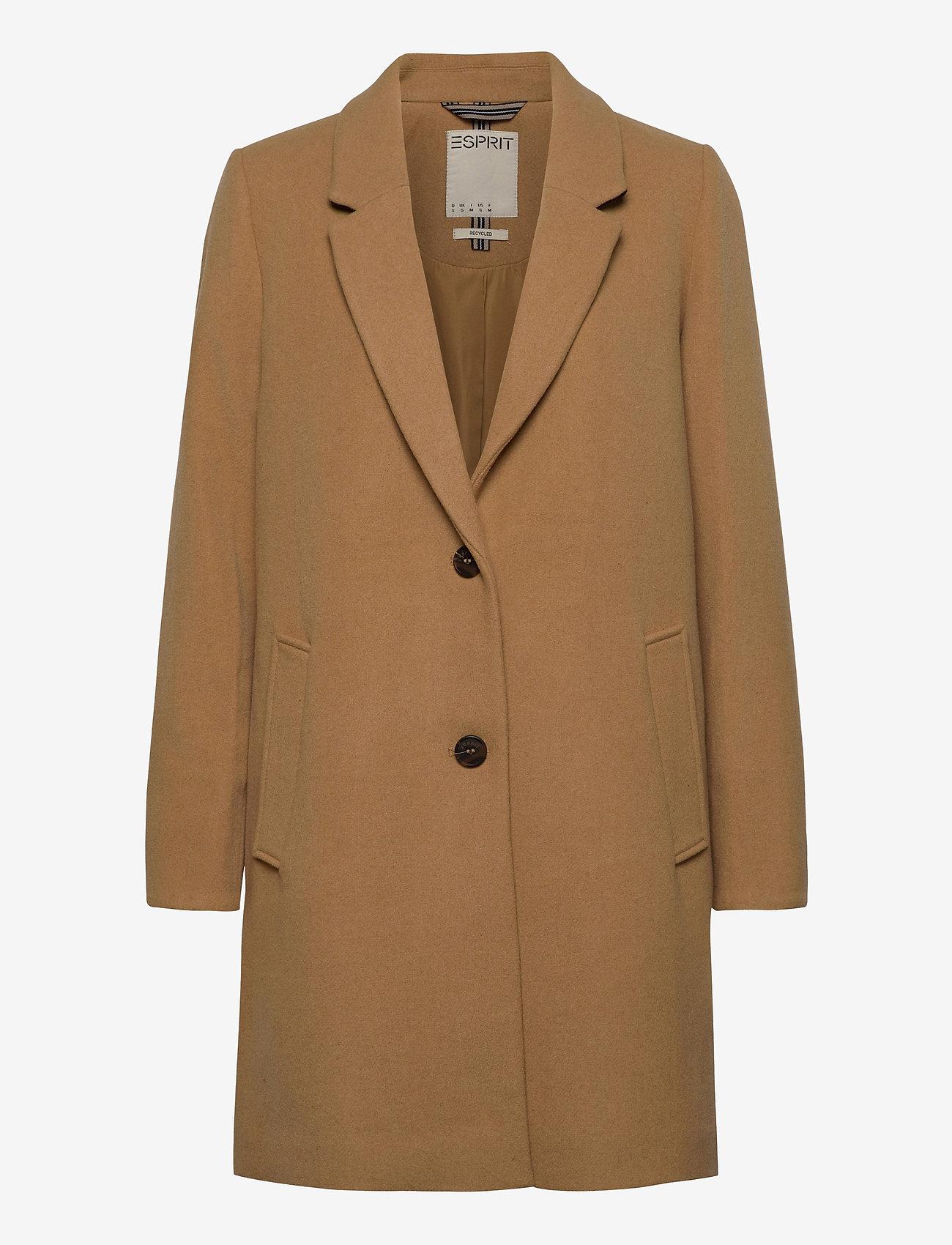 Esprit Casual - Coats woven - manteaux en laine - camel - 0