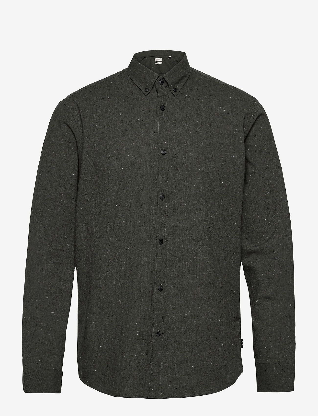 Esprit Casual - Shirts woven - chemises basiques - dark khaki 5 - 0