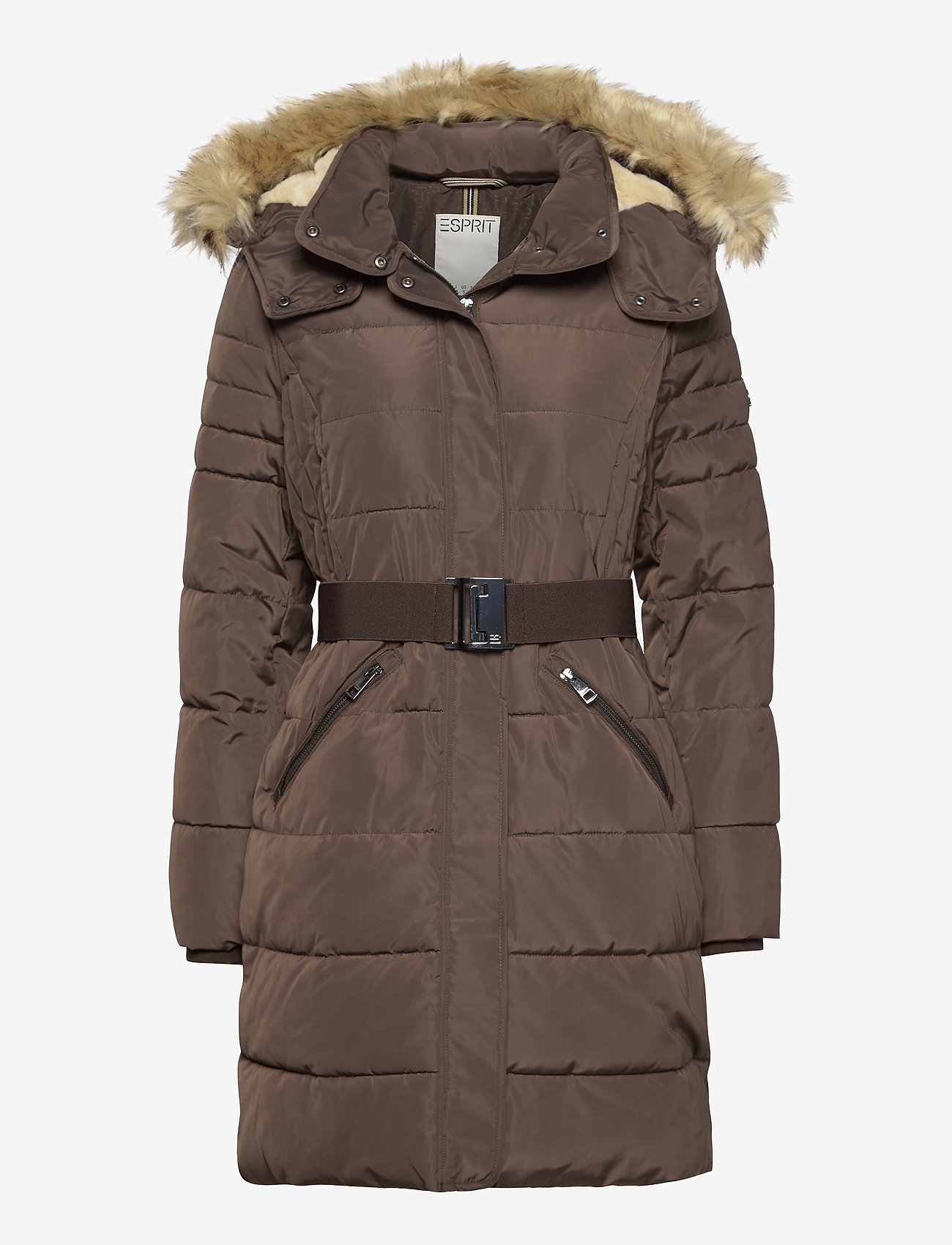 Esprit Casual - Coats woven - manteaux d'hiver - dark brown - 0
