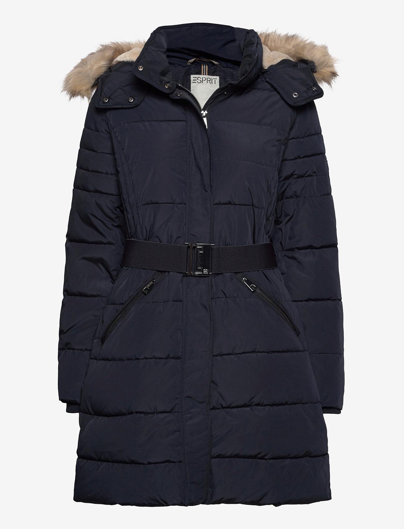 Esprit Casual - Coats woven - manteaux d'hiver - navy - 0