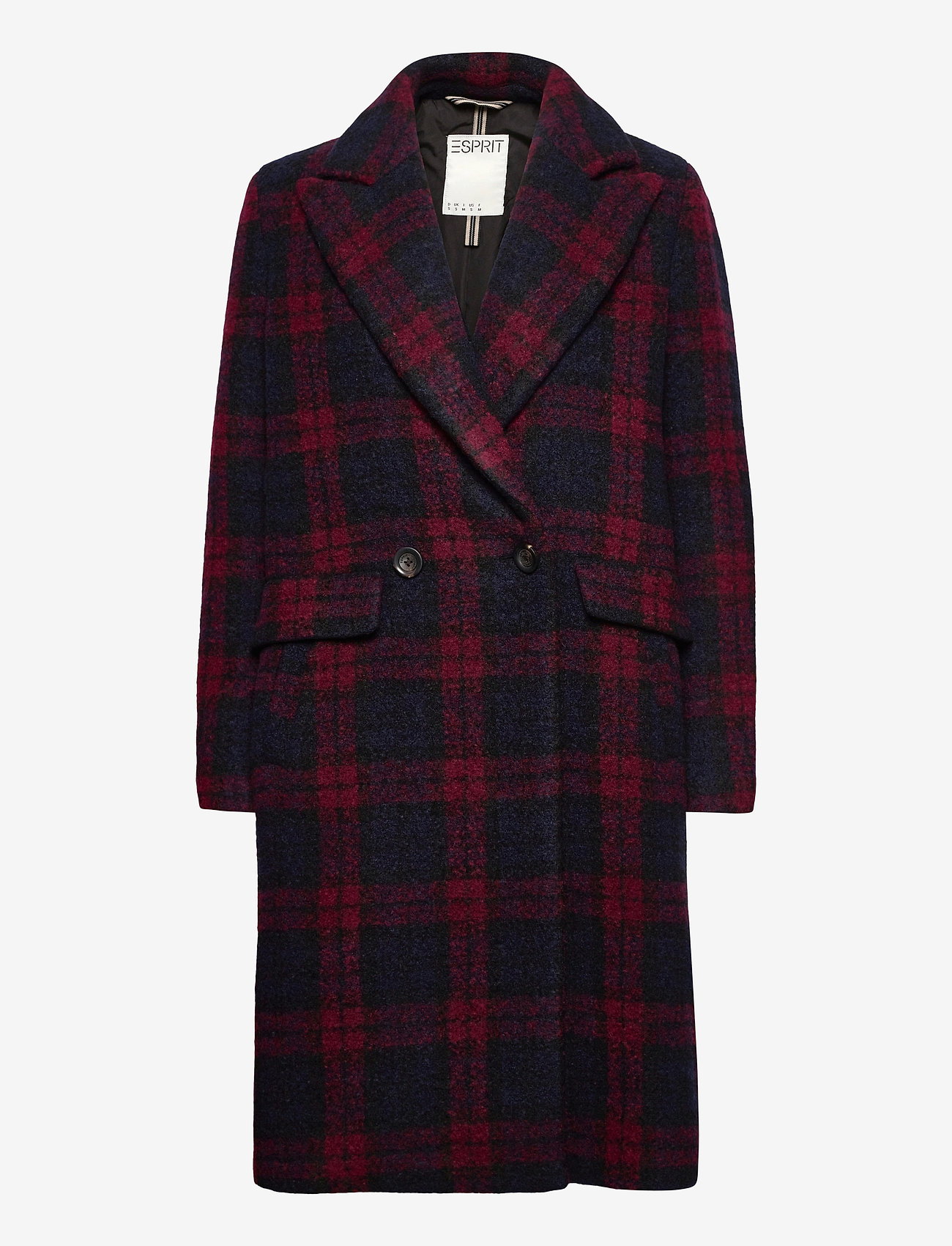 Esprit Casual - Coats woven - manteaux en laine - red 3 - 0