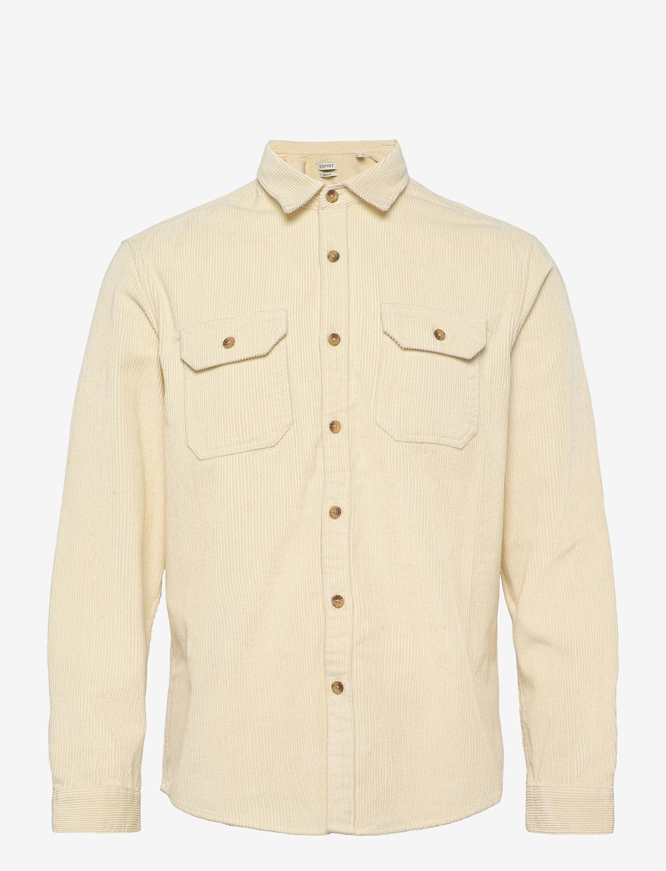 Esprit Casual - Shirts woven - hauts - cream beige - 0