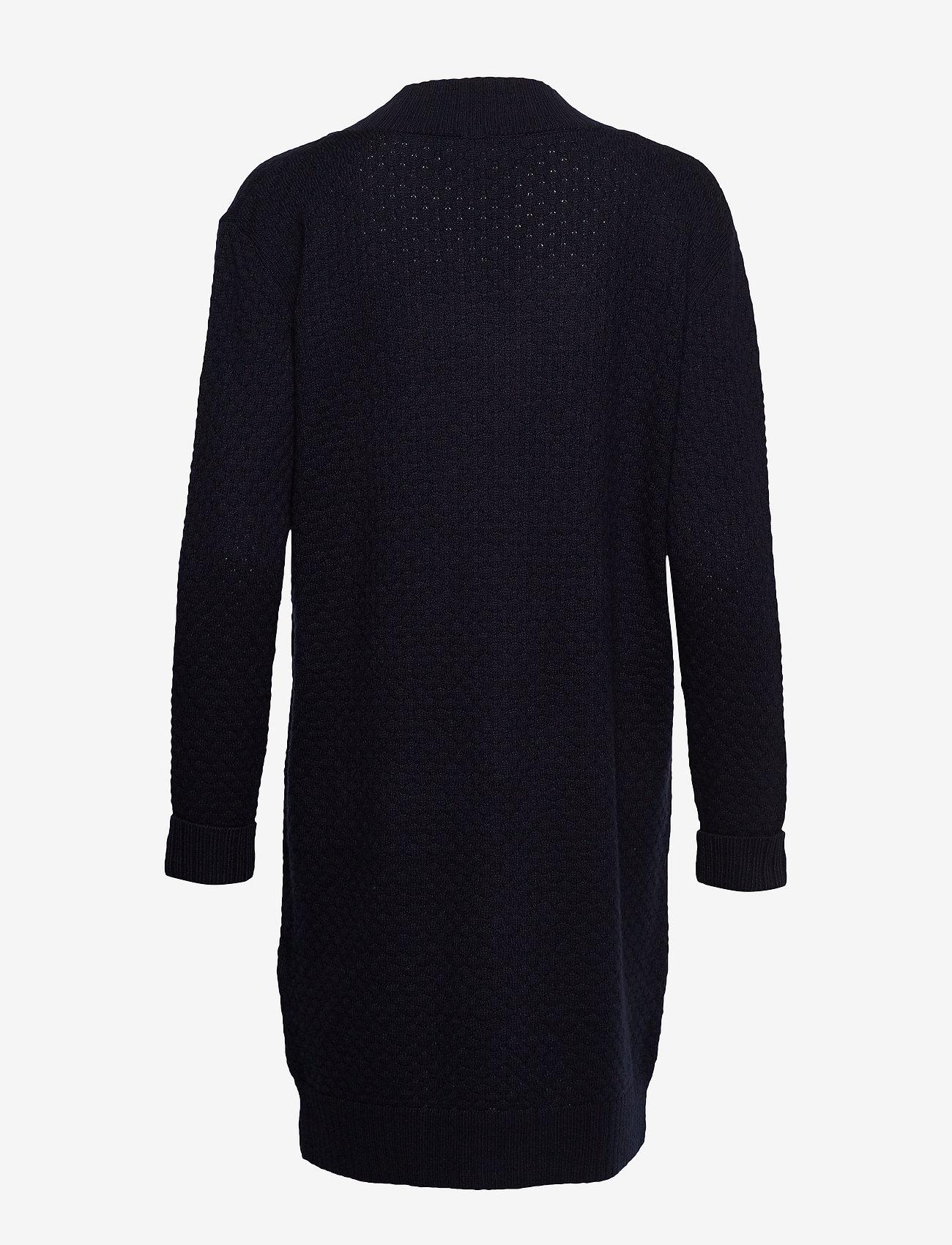 Esprit Casual - Dresses flat knitted - strikkjoler - navy - 1
