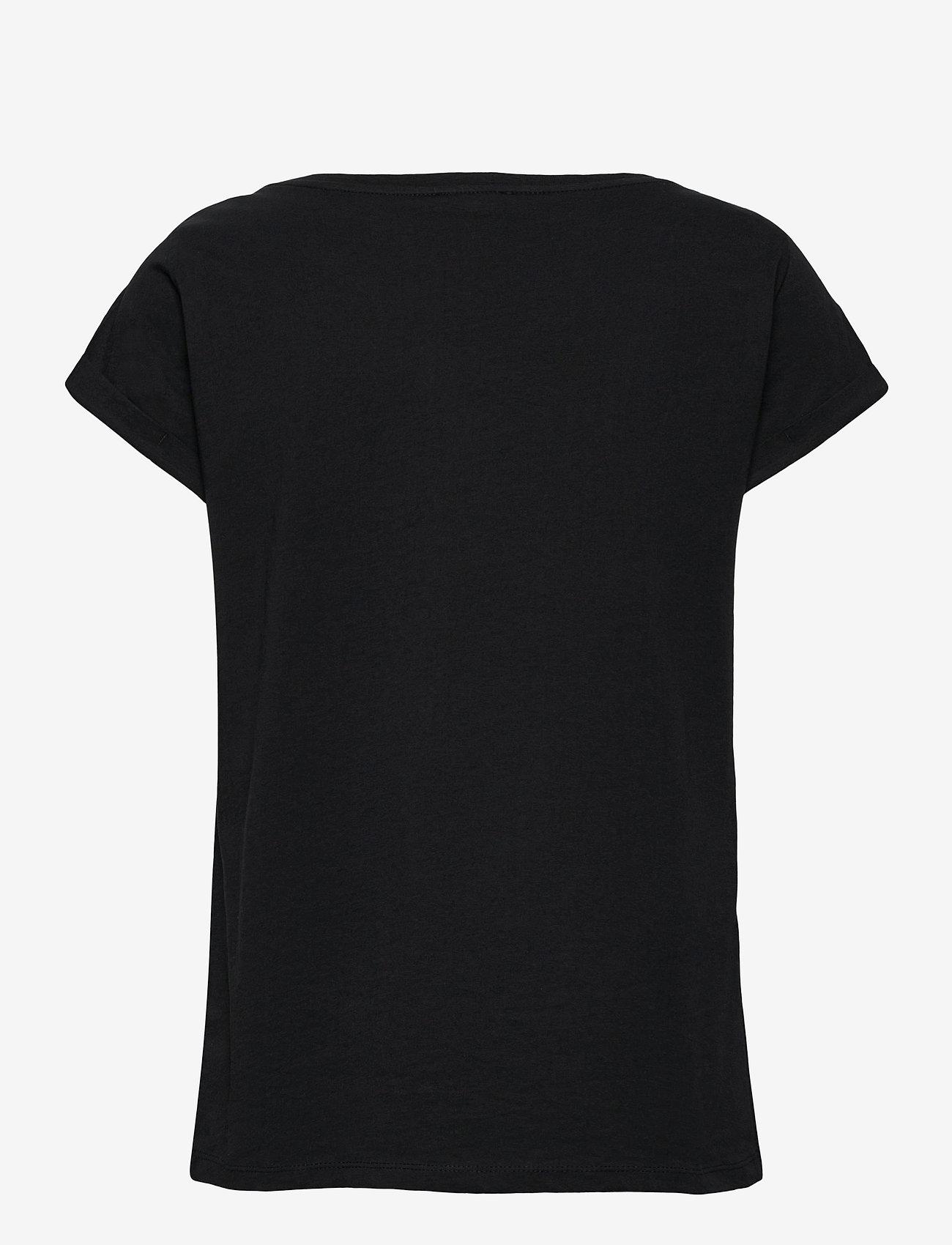 Esprit Casual - T-Shirts - t-shirt & tops - black - 1