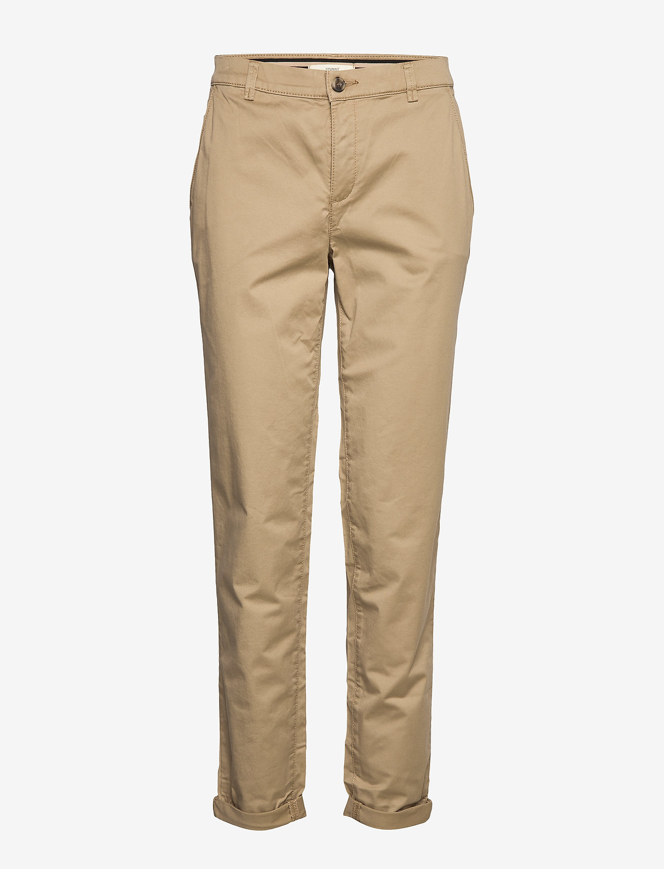 Esprit Casual - Pants woven - chinos - beige - 0