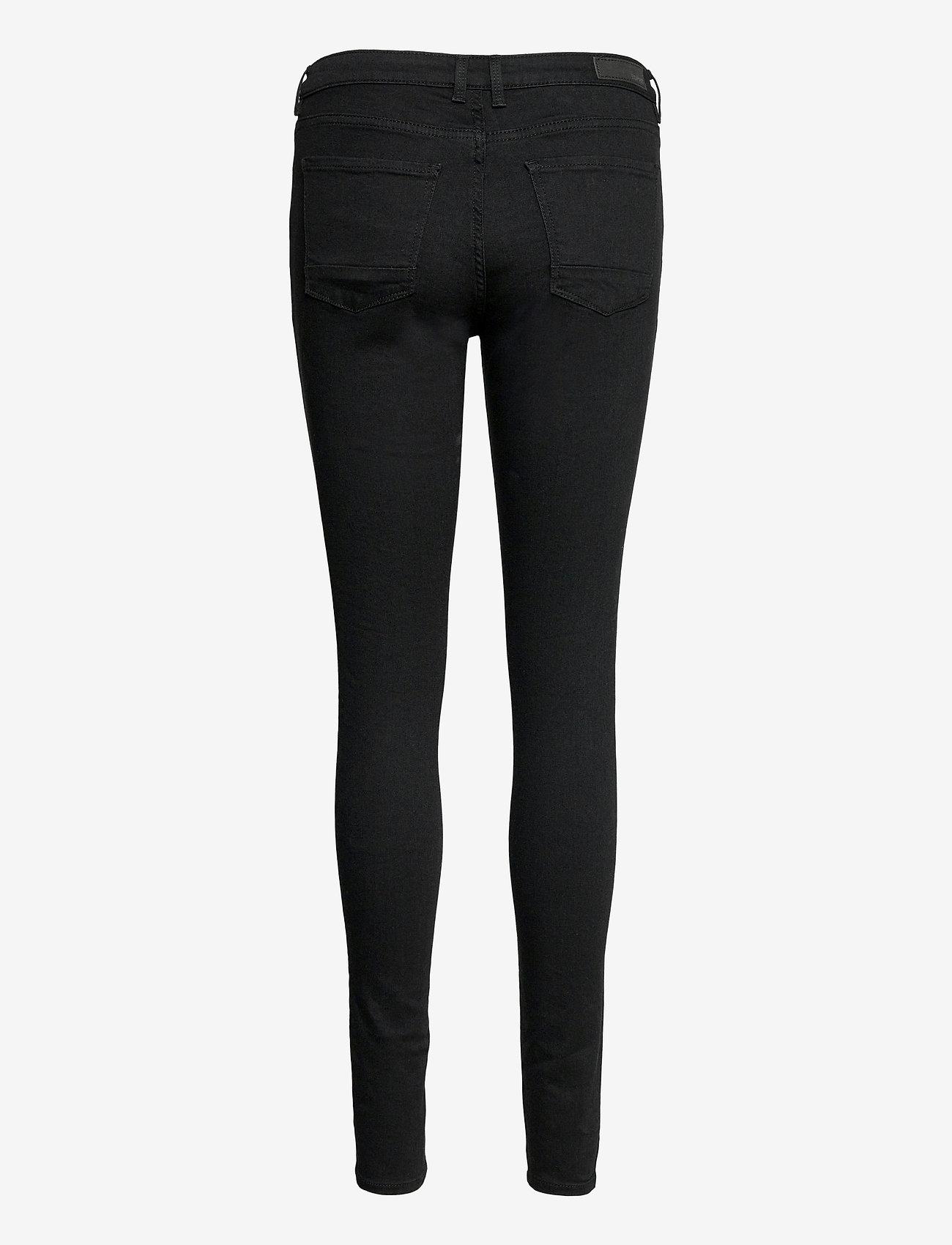 Esprit Casual - Pants denim - skinny jeans - black rinse - 1