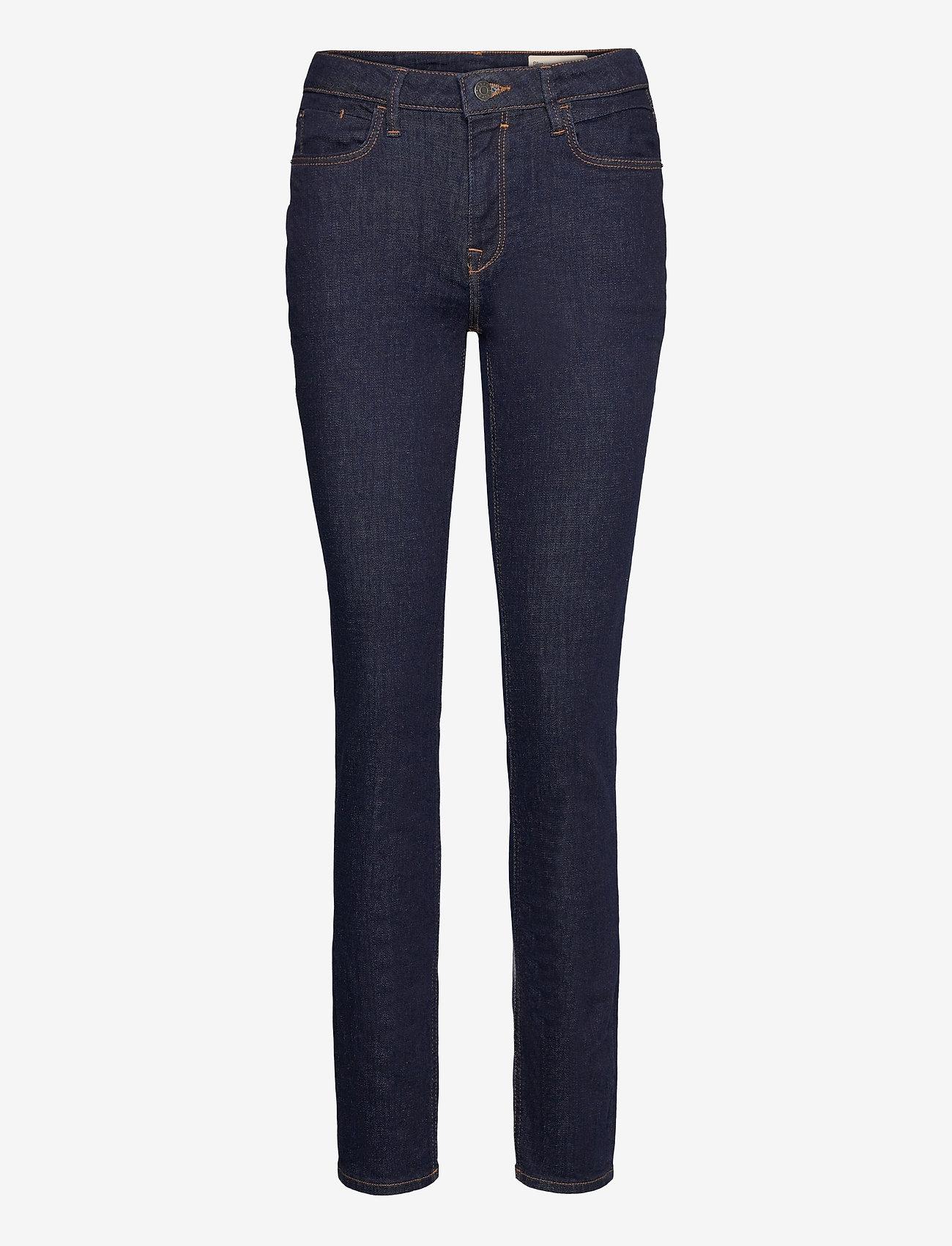 Esprit Casual - Pants denim - slim jeans - blue rinse - 0