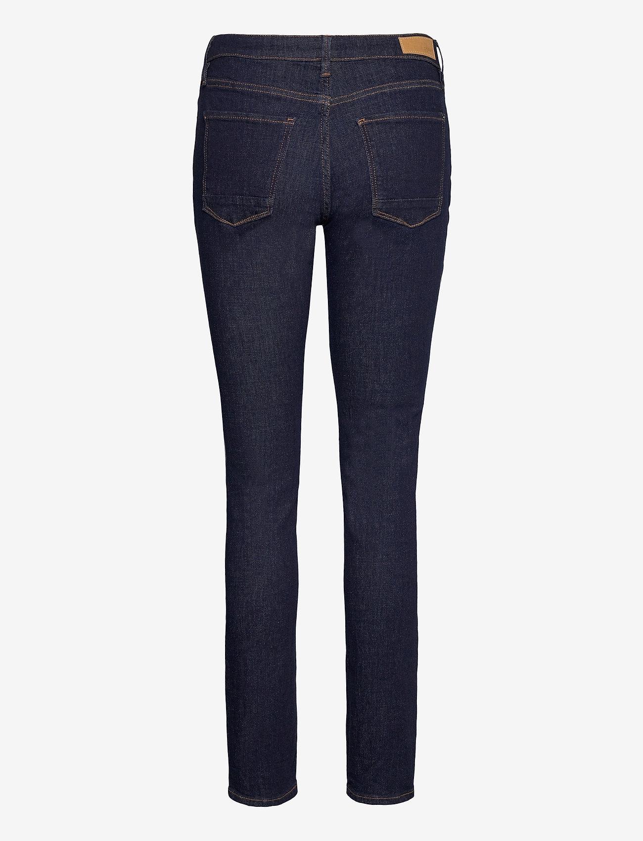 Esprit Casual - Pants denim - slim jeans - blue rinse - 1