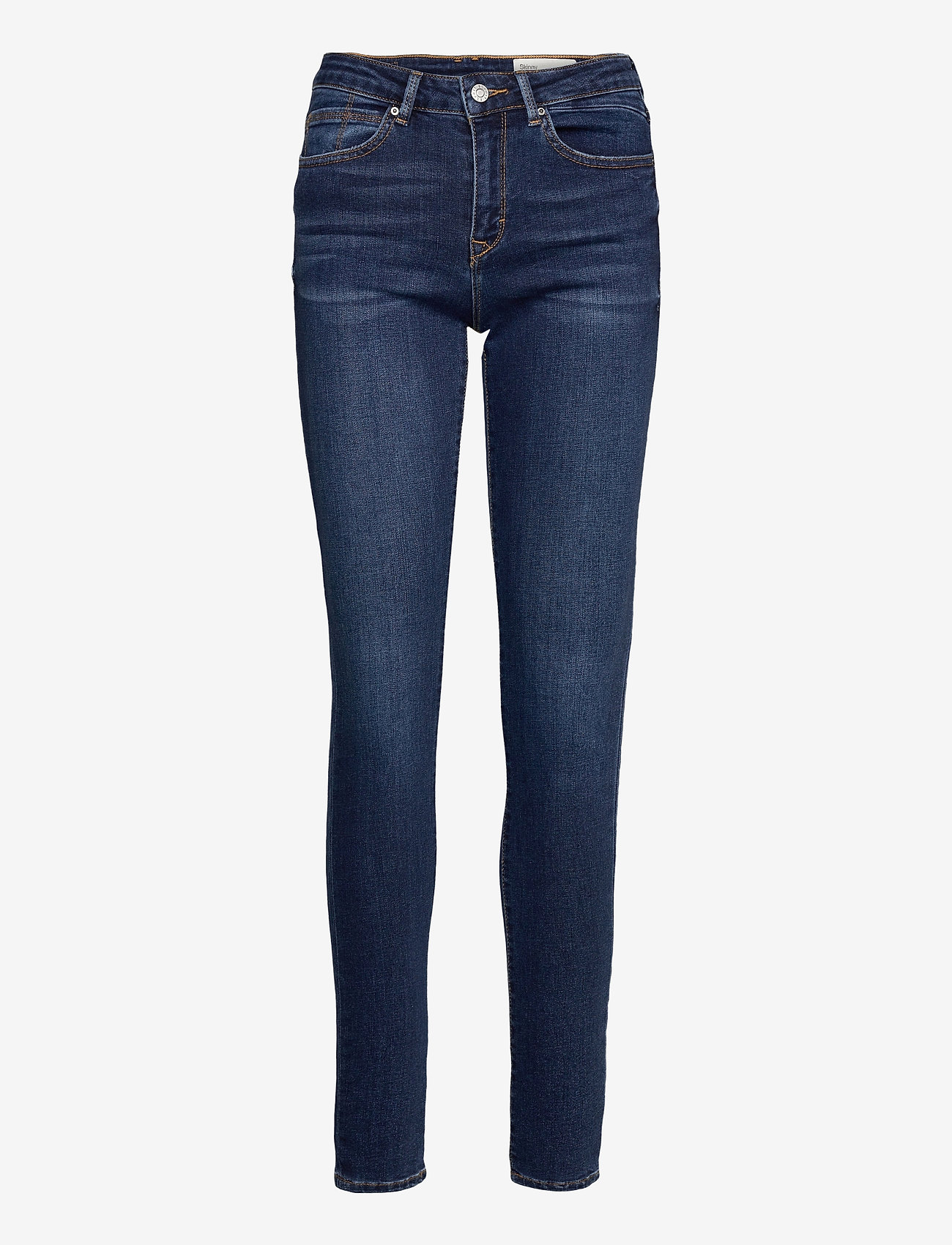 Esprit Casual - Pants denim - skinny jeans - blue medium wash - 0
