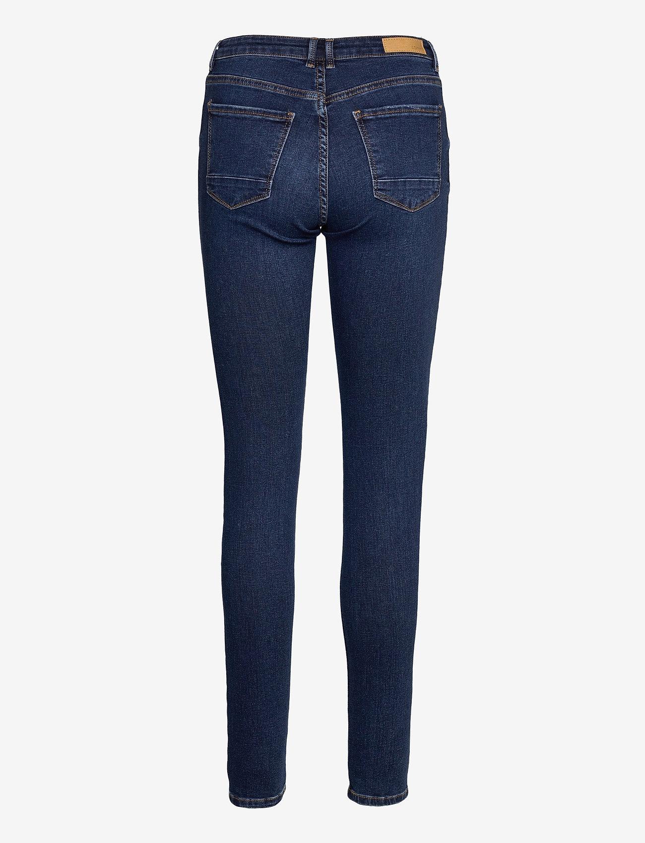 Esprit Casual - Pants denim - skinny jeans - blue medium wash - 1