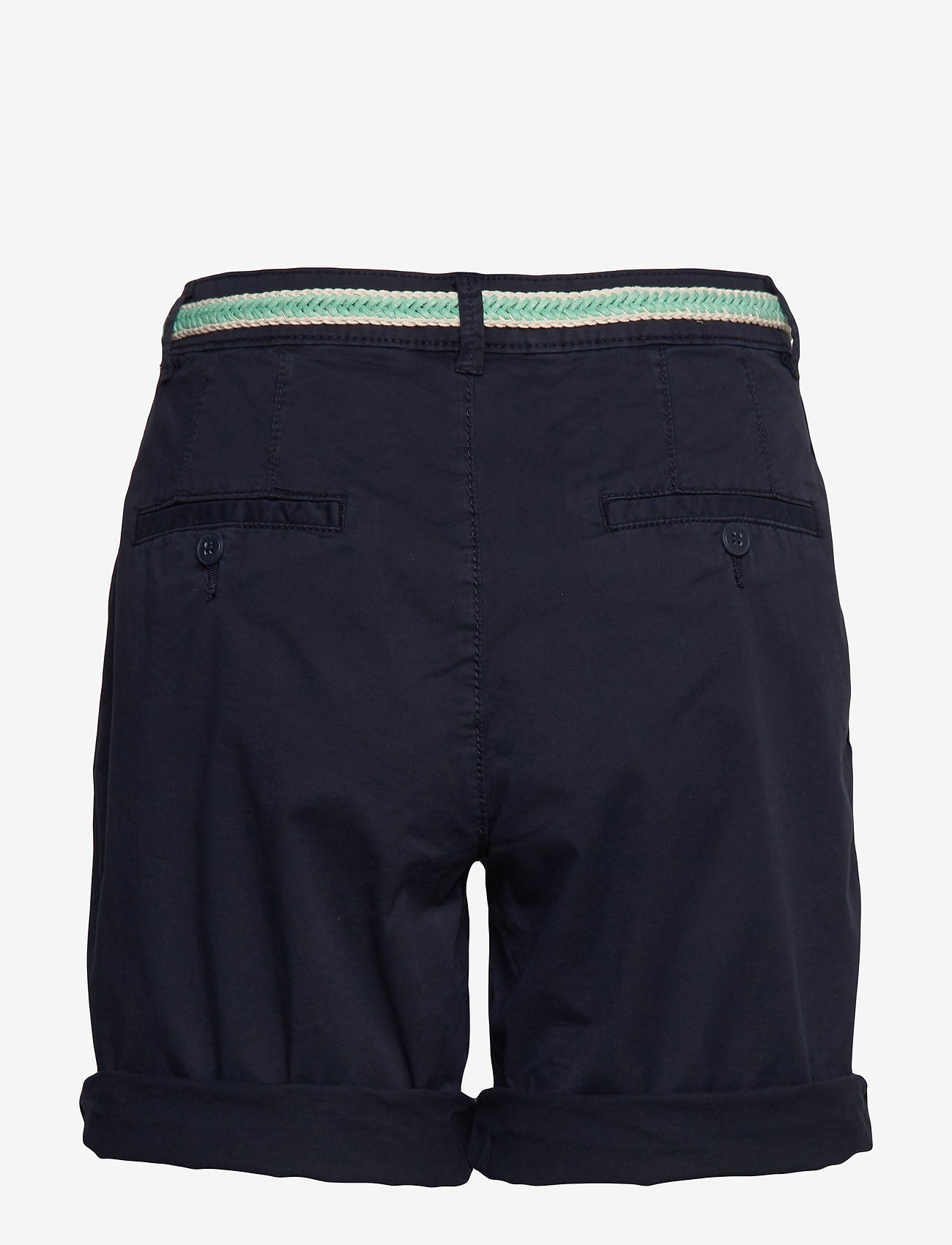 Esprit Casual - Shorts woven - chino shorts - navy - 1