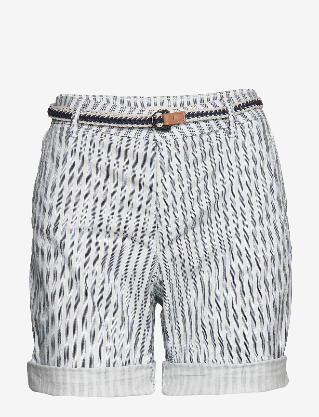Esprit Casual - Shorts woven - casual shorts - grey blue - 0
