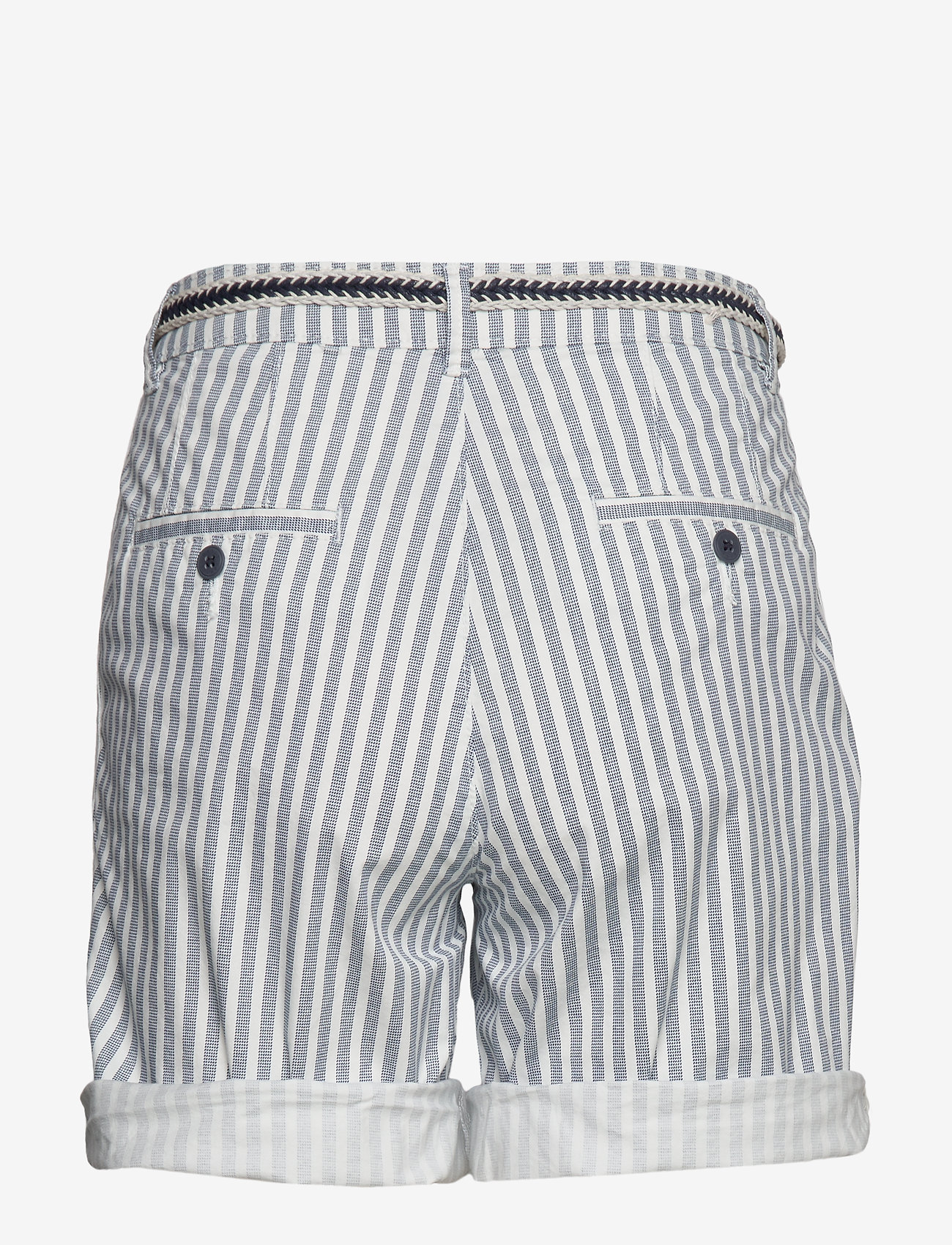 Esprit Casual - Shorts woven - casual shorts - grey blue - 1