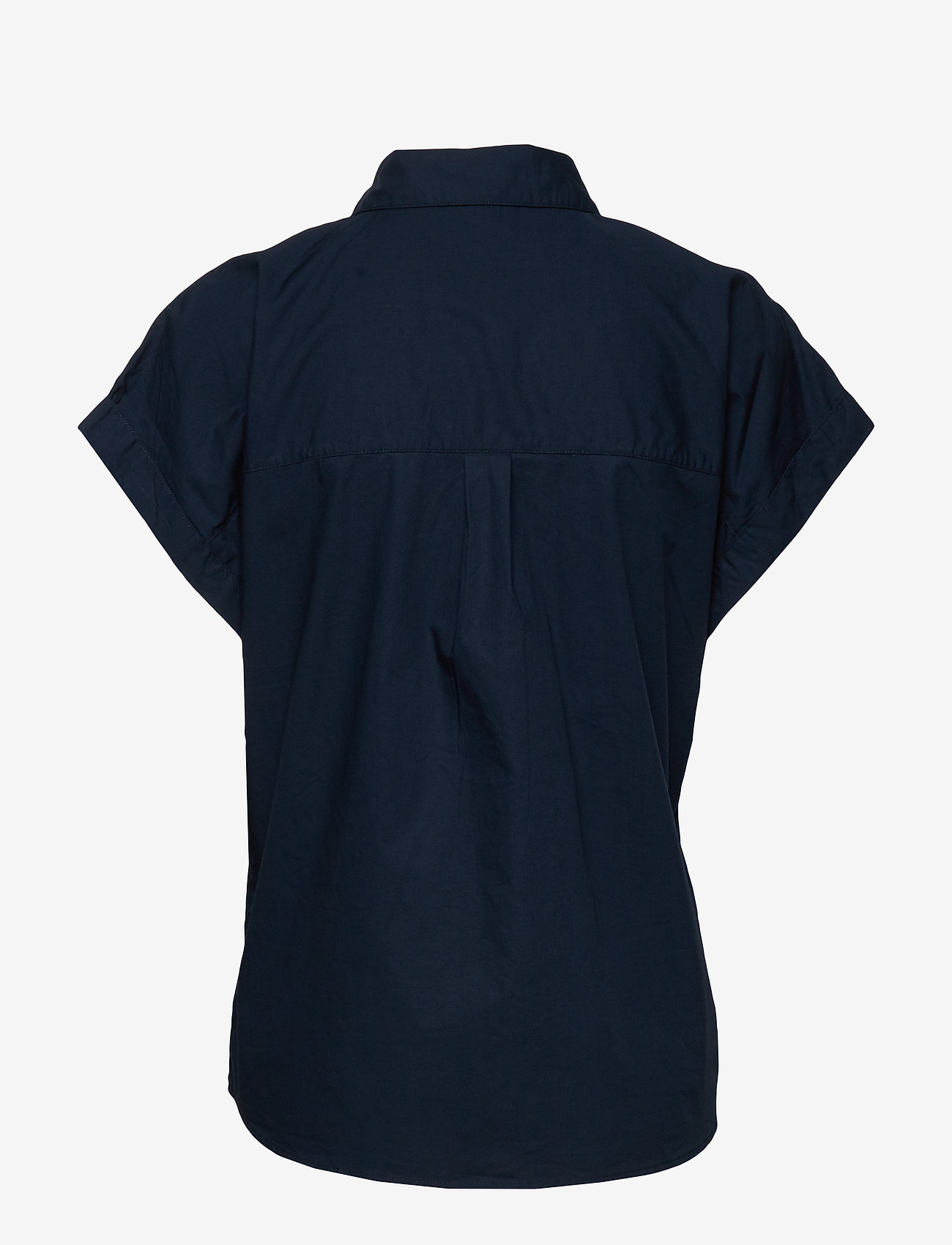 Esprit Casual - Blouses woven - kortermede skjorter - navy - 1