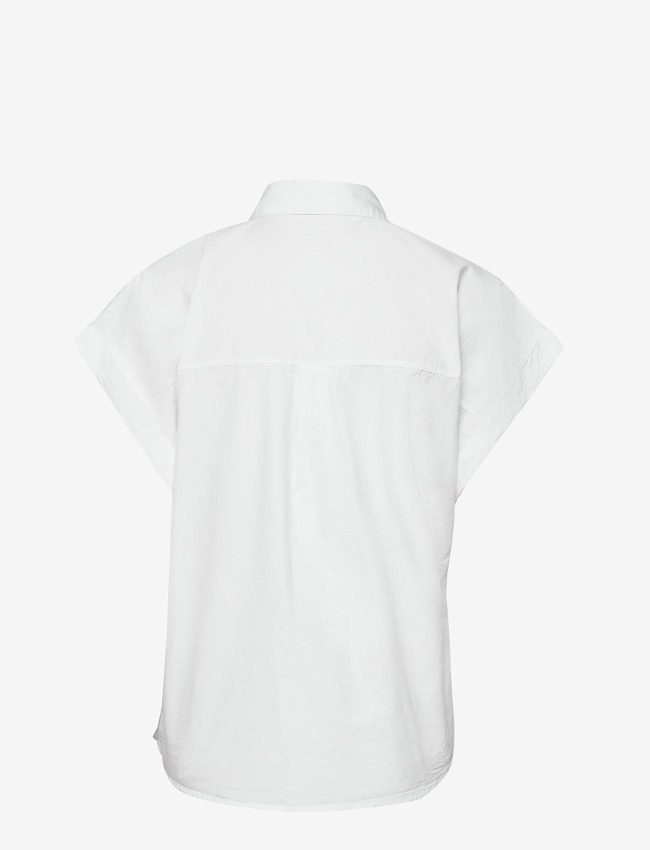 Esprit Casual - Blouses woven - kortermede skjorter - white - 1