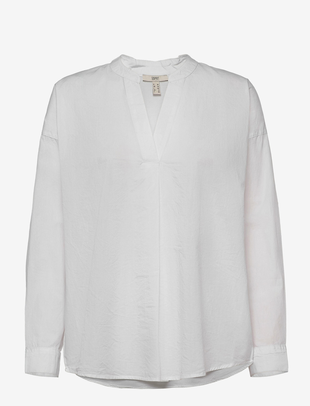 Esprit Casual - Blouses woven - langermede bluser - white - 0