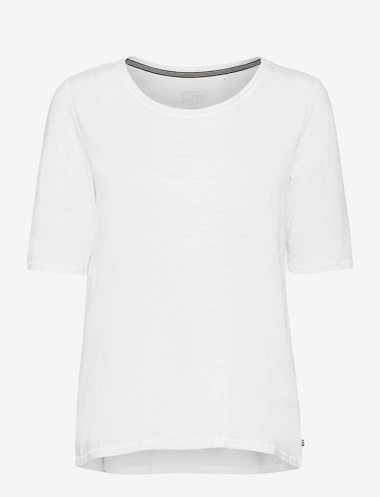 Esprit Casual - T-Shirts - t-shirts - white - 0