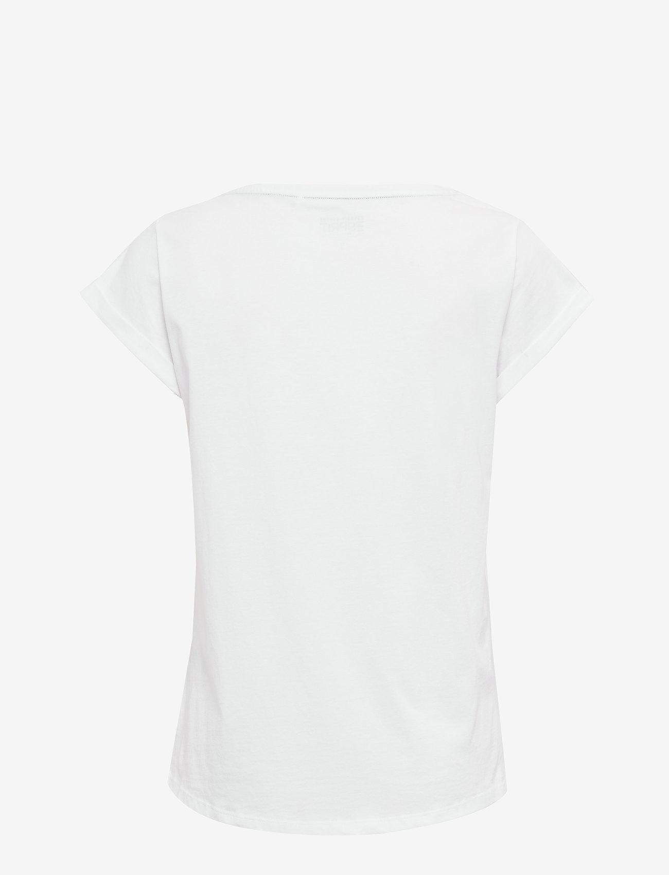 Esprit Casual - T-Shirts - t-shirts - white 2 - 1