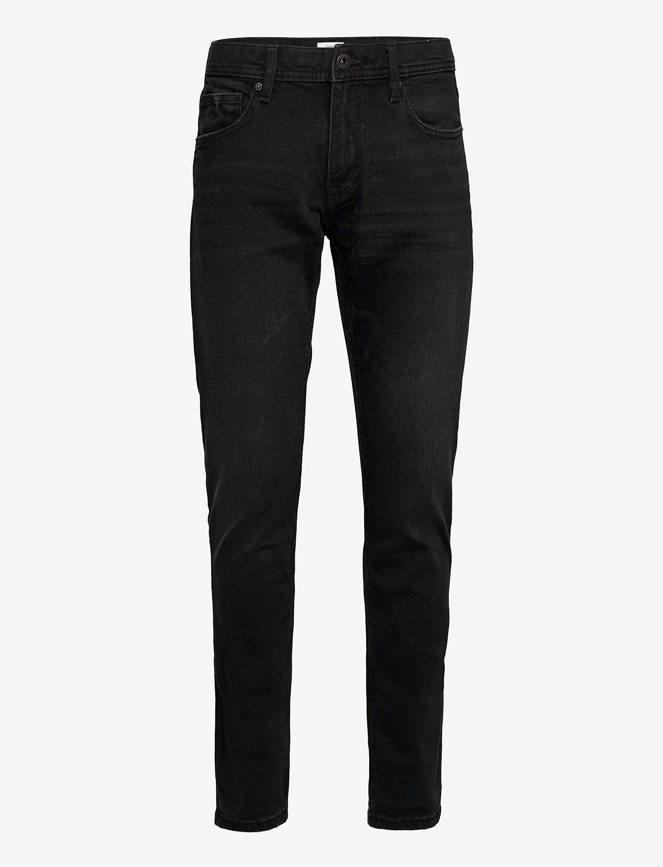 Esprit Casual - Pants denim - slim jeans - black dark wash - 0