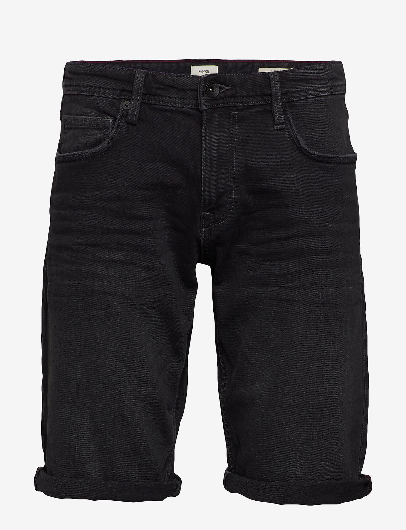 Esprit Casual - Shorts denim - denim shorts - black medium wash - 0