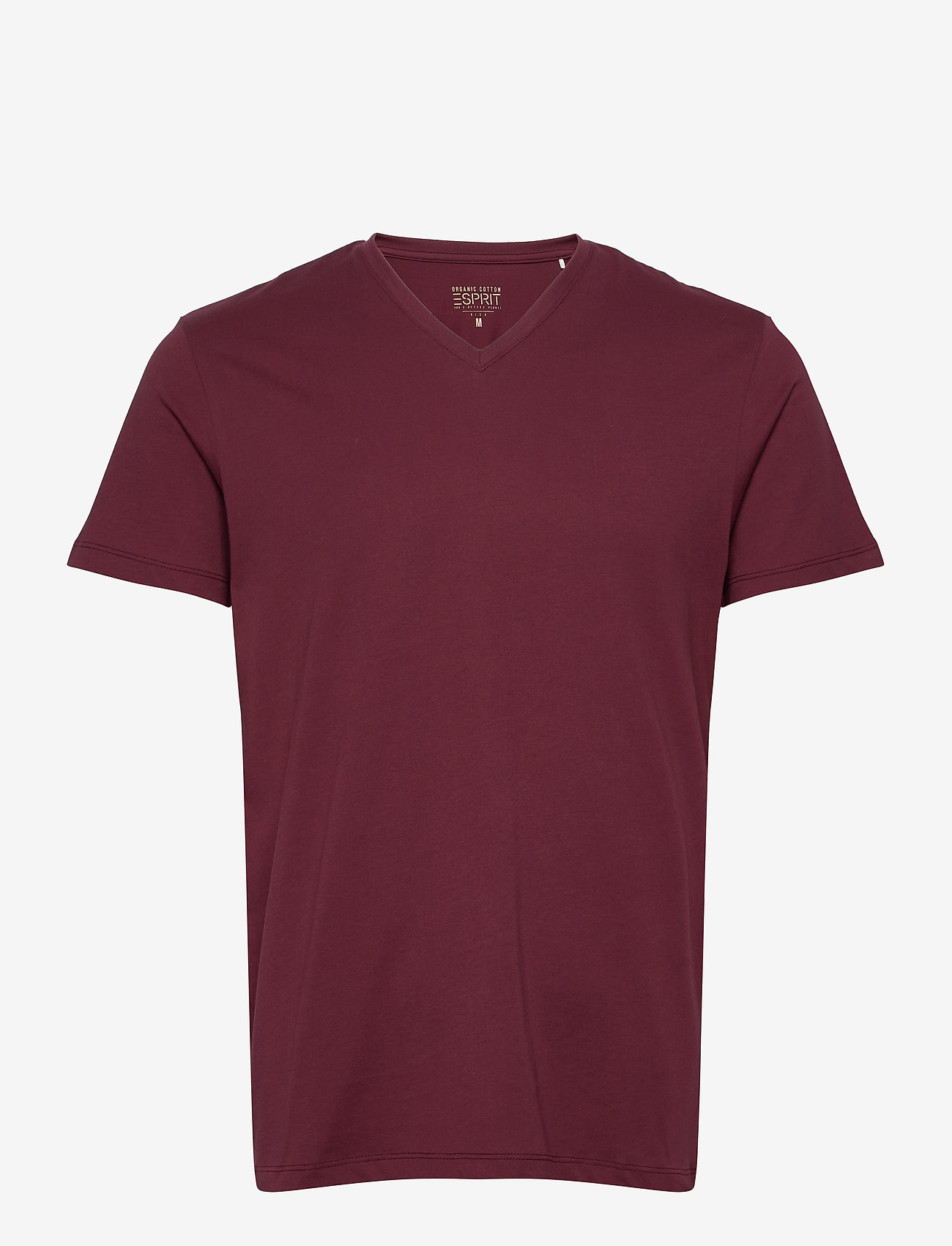 Esprit Casual - T-Shirts - basic t-shirts - bordeaux red - 0