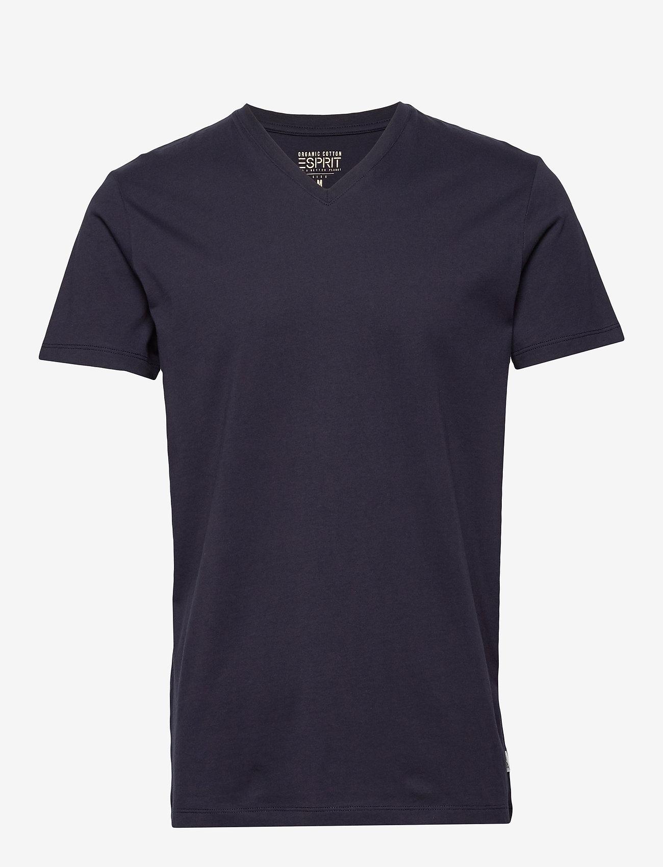 Esprit Casual - T-Shirts - basic t-shirts - navy - 0
