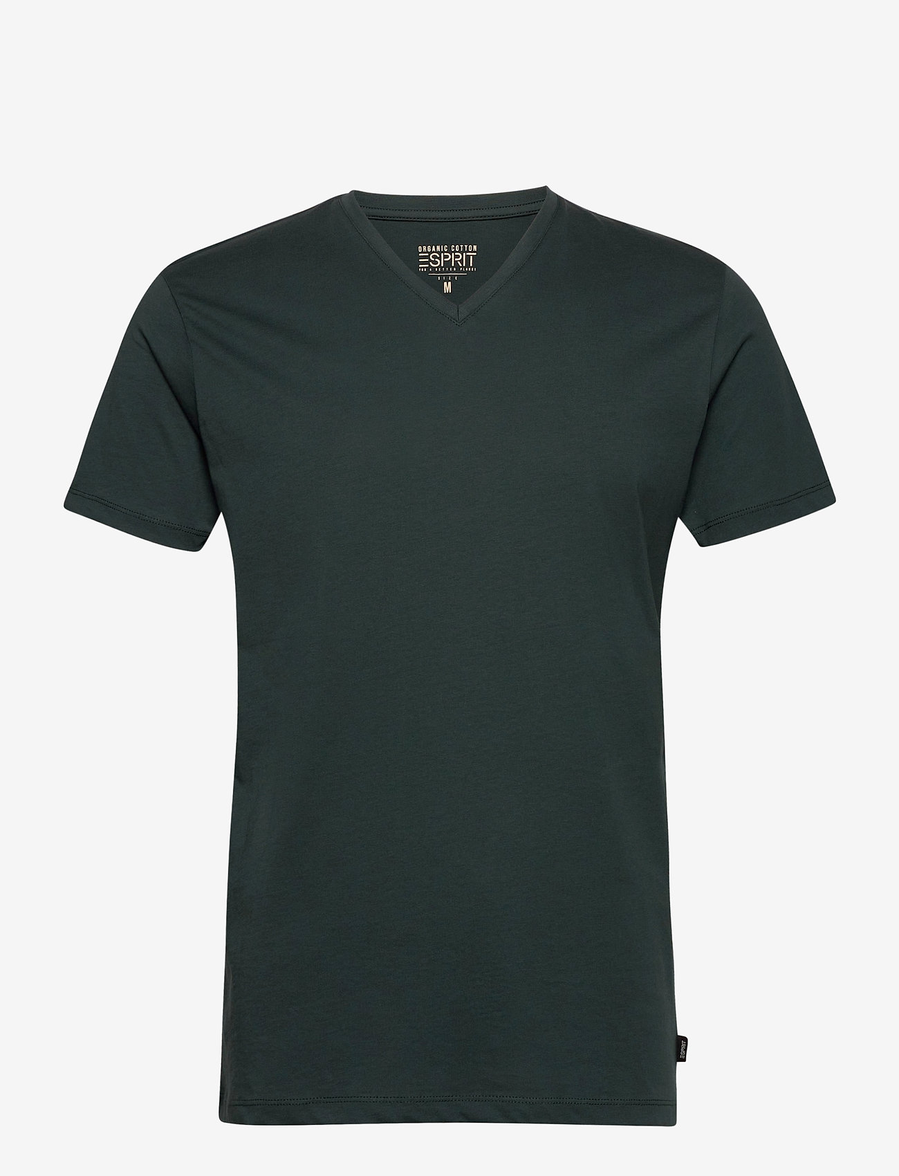 Esprit Casual - T-Shirts - basic t-shirts - teal blue - 0