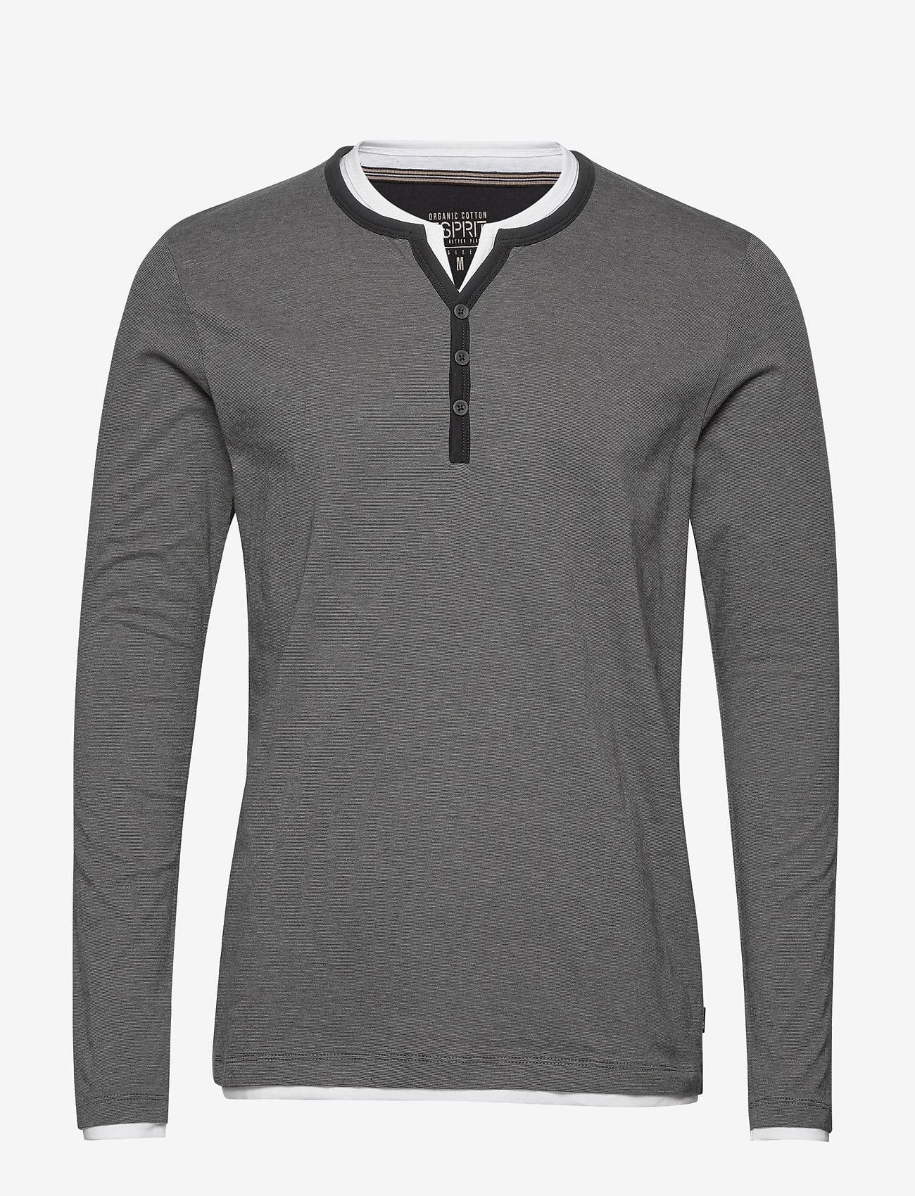 Esprit Casual - T-Shirts - basic t-shirts - black 3 - 0