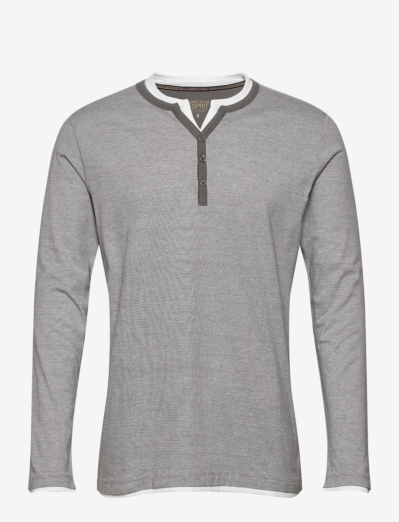 Esprit Casual - T-Shirts - basic t-shirts - medium grey 3 - 0