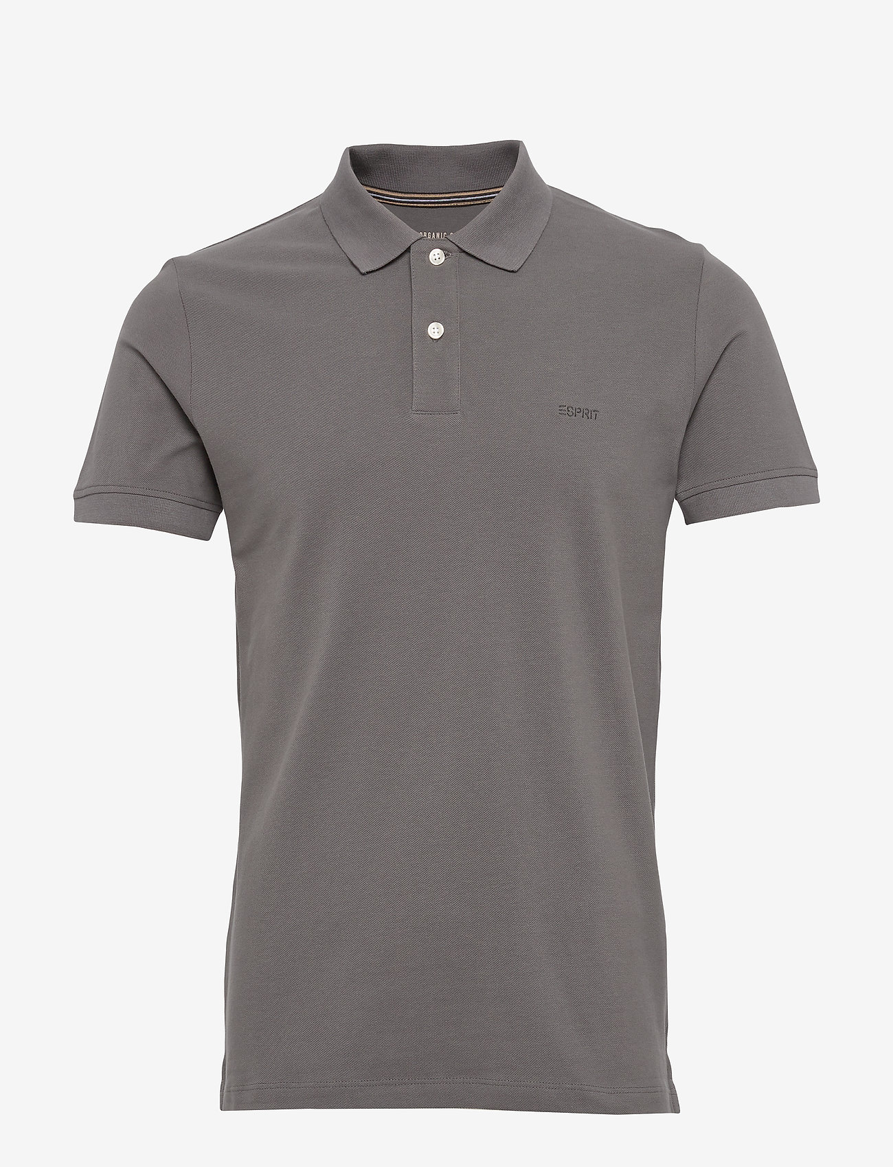Esprit Casual - Polo shirts - short-sleeved polos - dark grey - 0