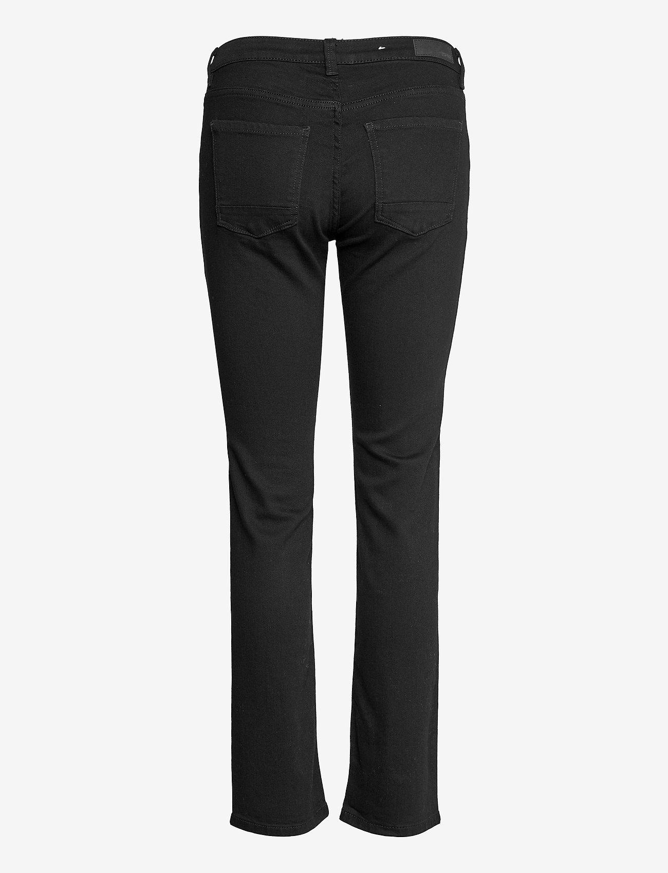 Esprit Casual - Pants denim - slim jeans - black rinse - 1