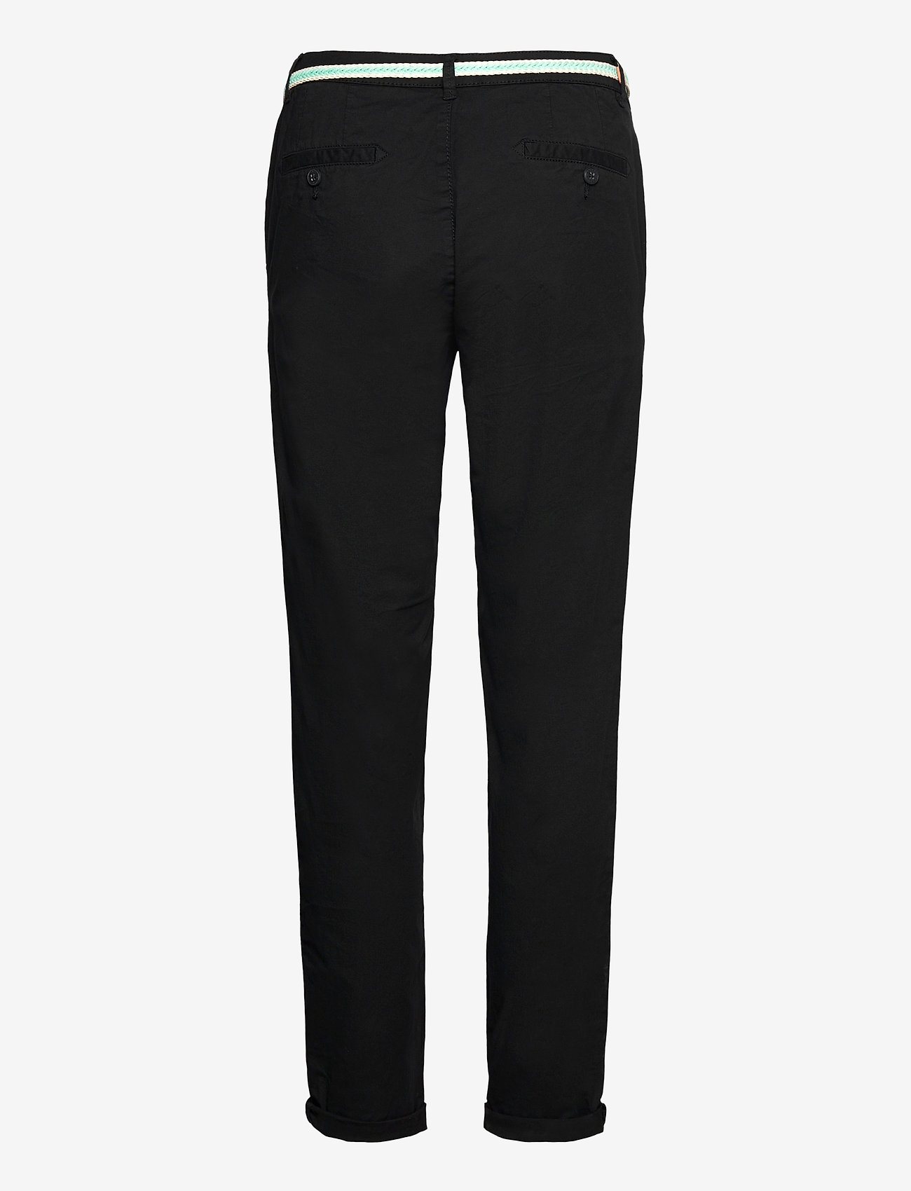 Esprit Casual - Pants woven - chinos - black - 1