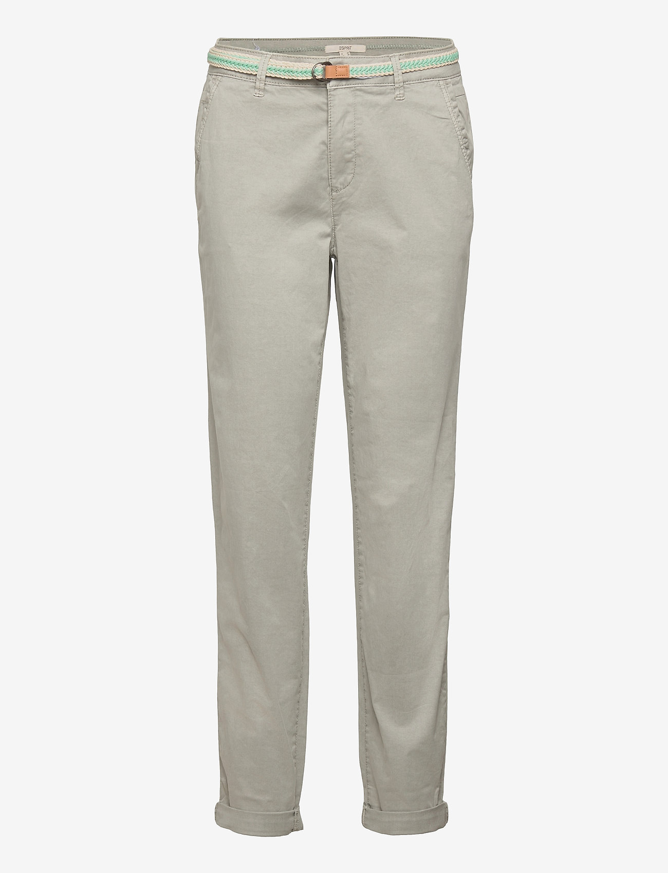 Esprit Casual - Pants woven - chinos - light grey - 0
