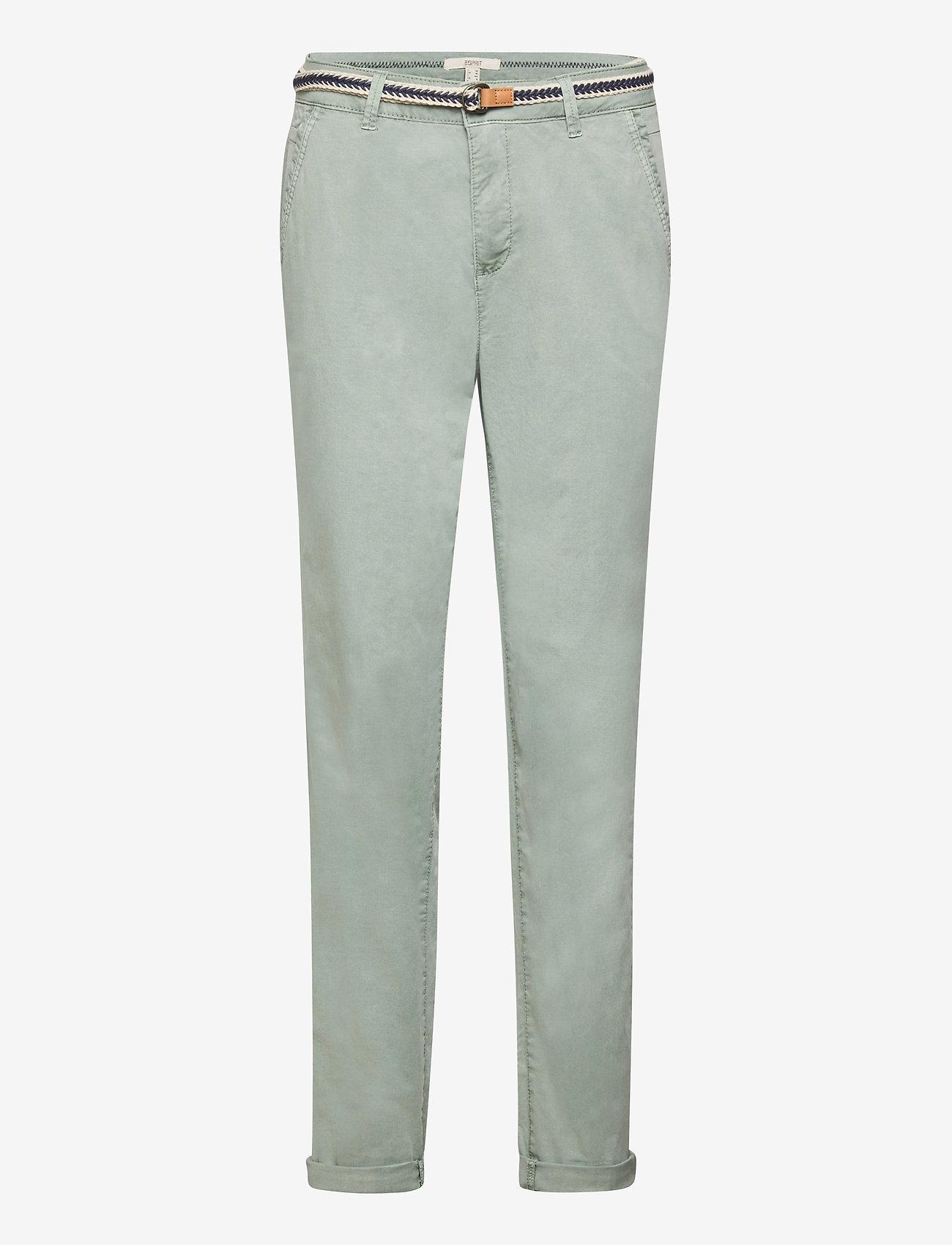 Esprit Casual - Pants woven - chinos - light khaki - 0