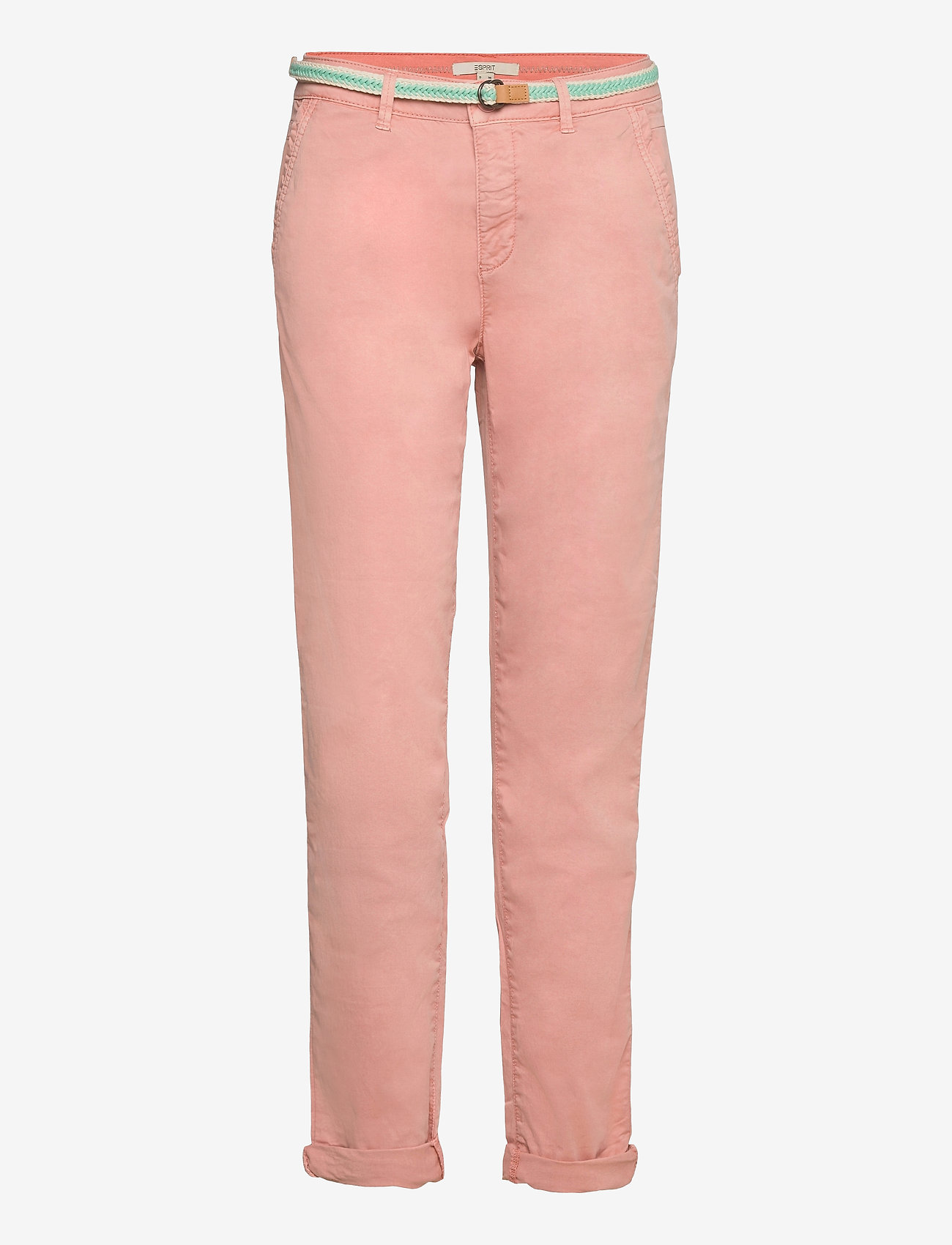 Esprit Casual - Pants woven - chinos - nude - 0
